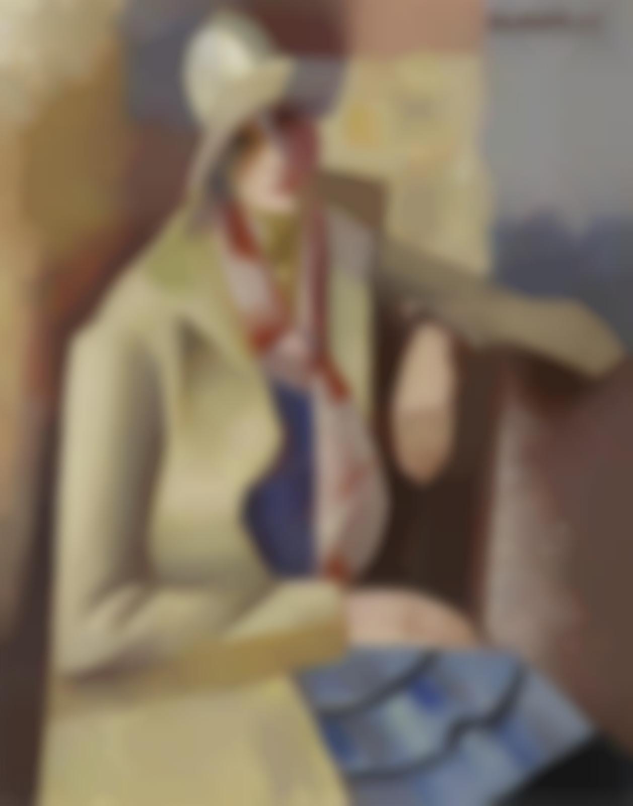 Andre Lhote-Portrait d'Anne-1925