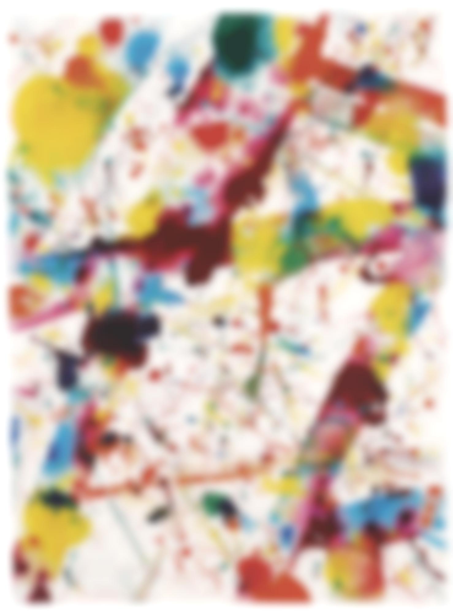 Sam Francis-Yellow Coral-1974