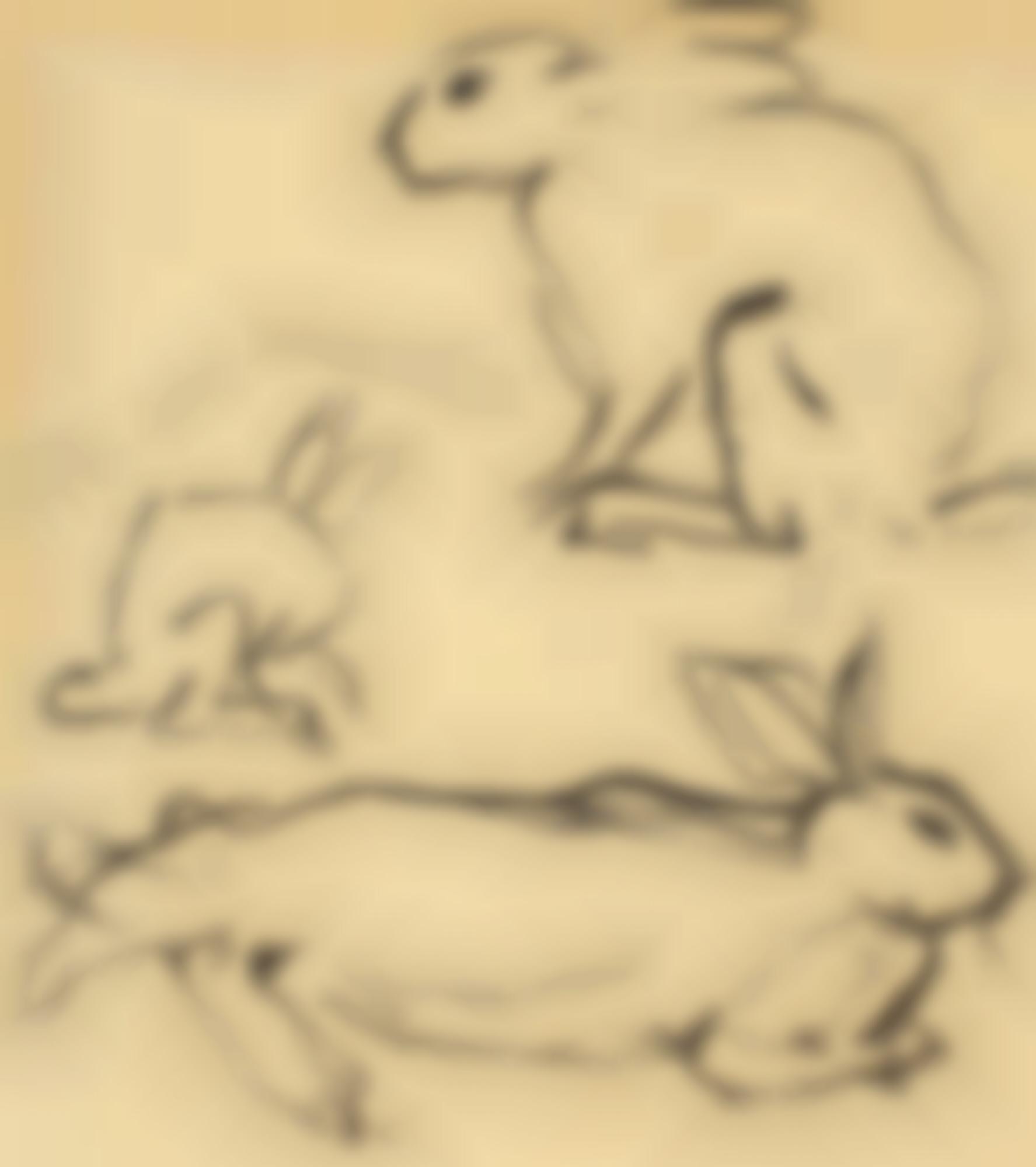 Alexander Calder-Rabbits-1925