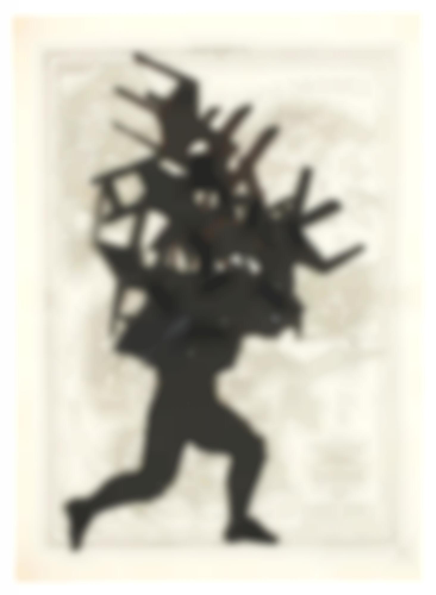 William Kentridge-Puppet Drawing-2000