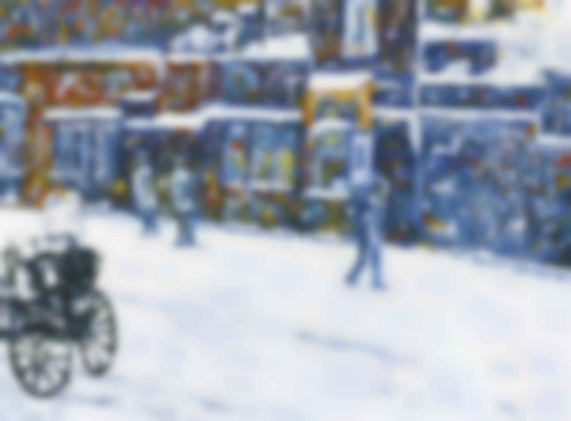 Karen Kilimnik-Rich And Poor, Skid Row, The Messenger Boy By Childe Hassam-2004