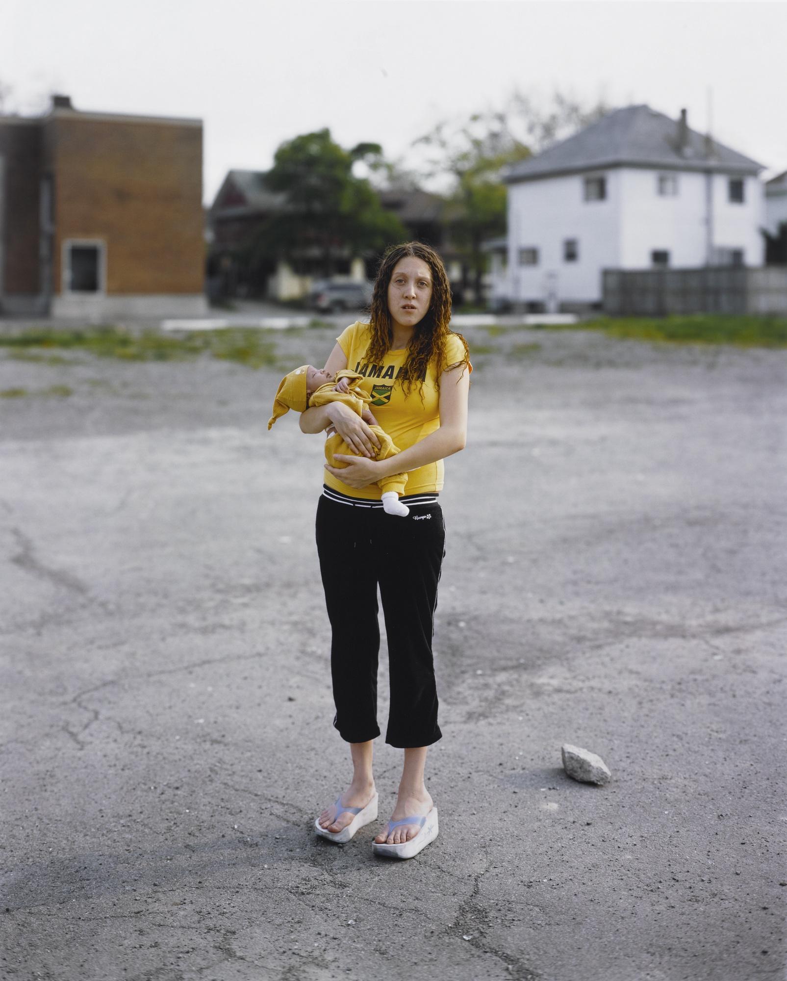 Alec Soth-Rebecca, From The Series Niagara-2006