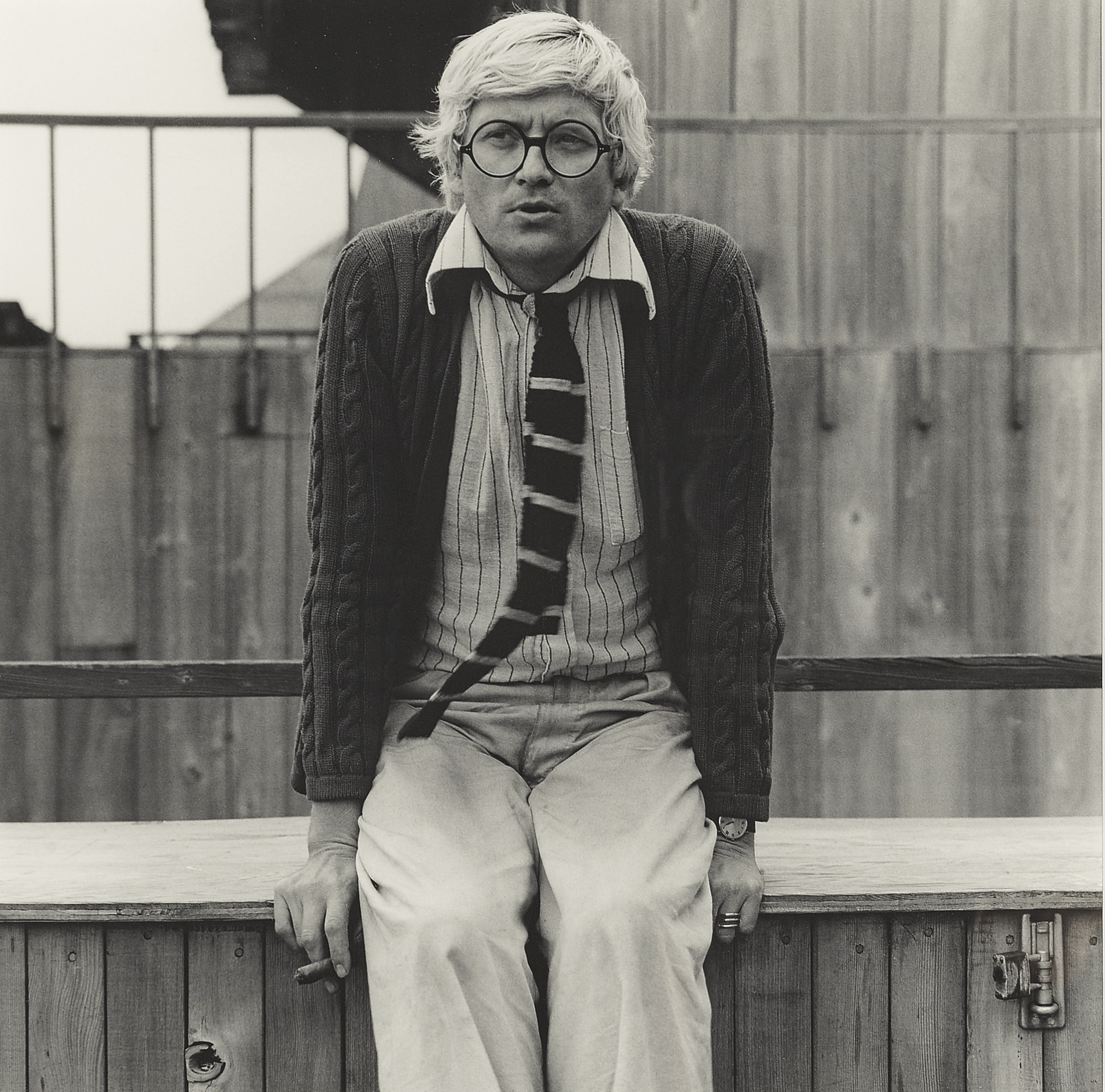 Robert Mapplethorpe-David Hockney-1976