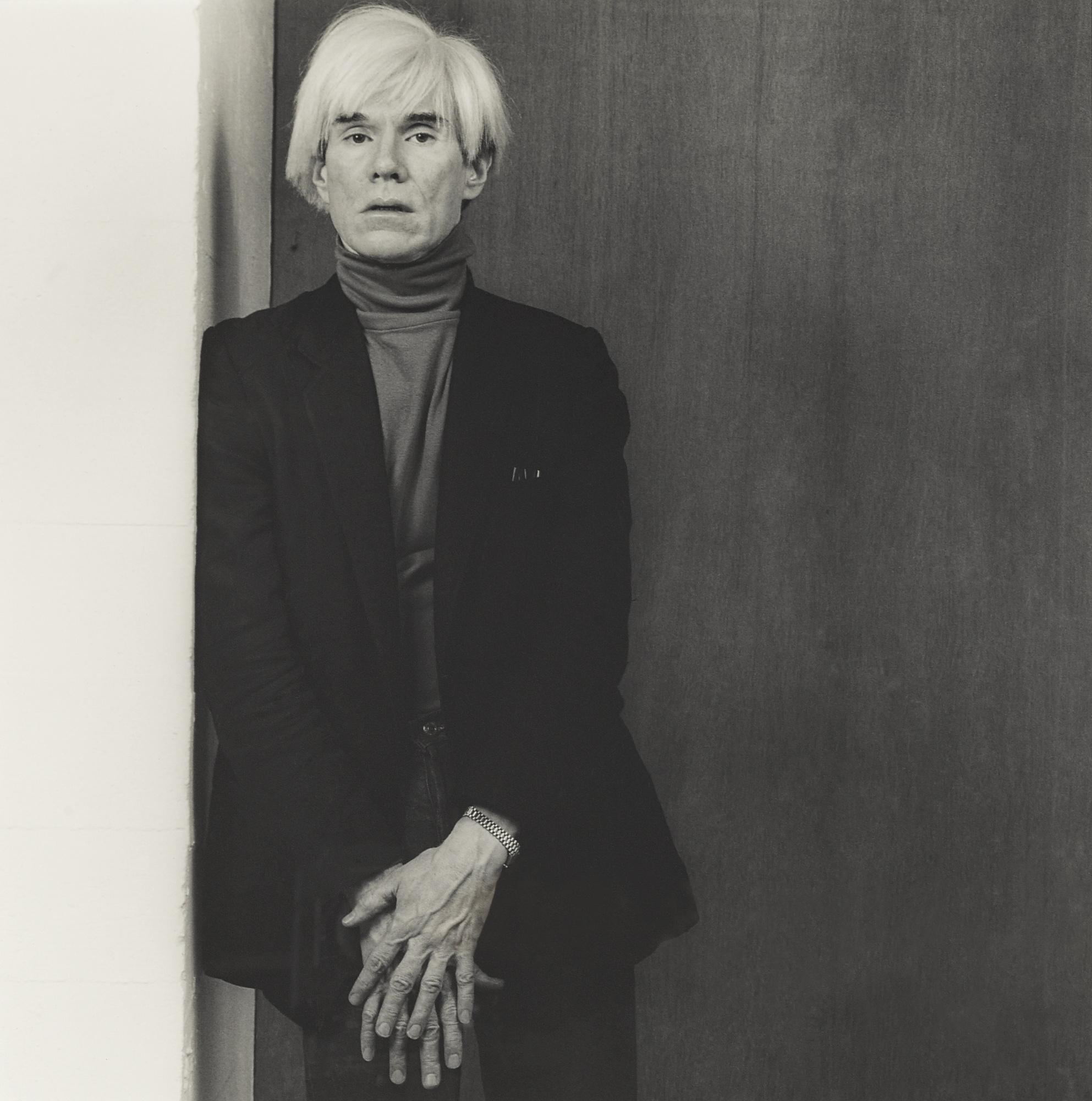 Robert Mapplethorpe-Andy Warhol-1983