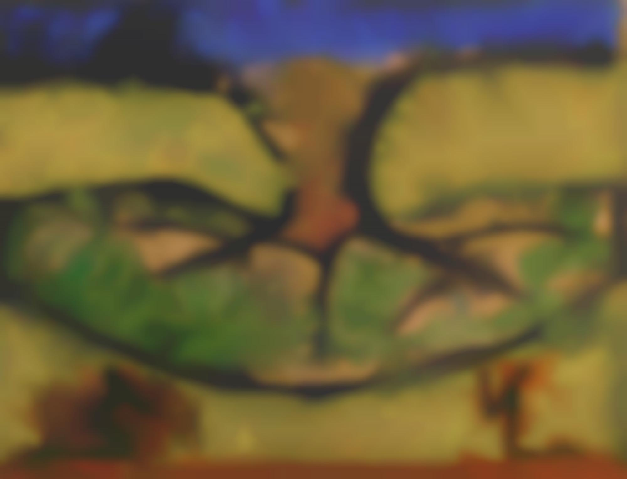 Francesco Clemente-Fifty One Days On Mount Abu: XlIII Tree-1996