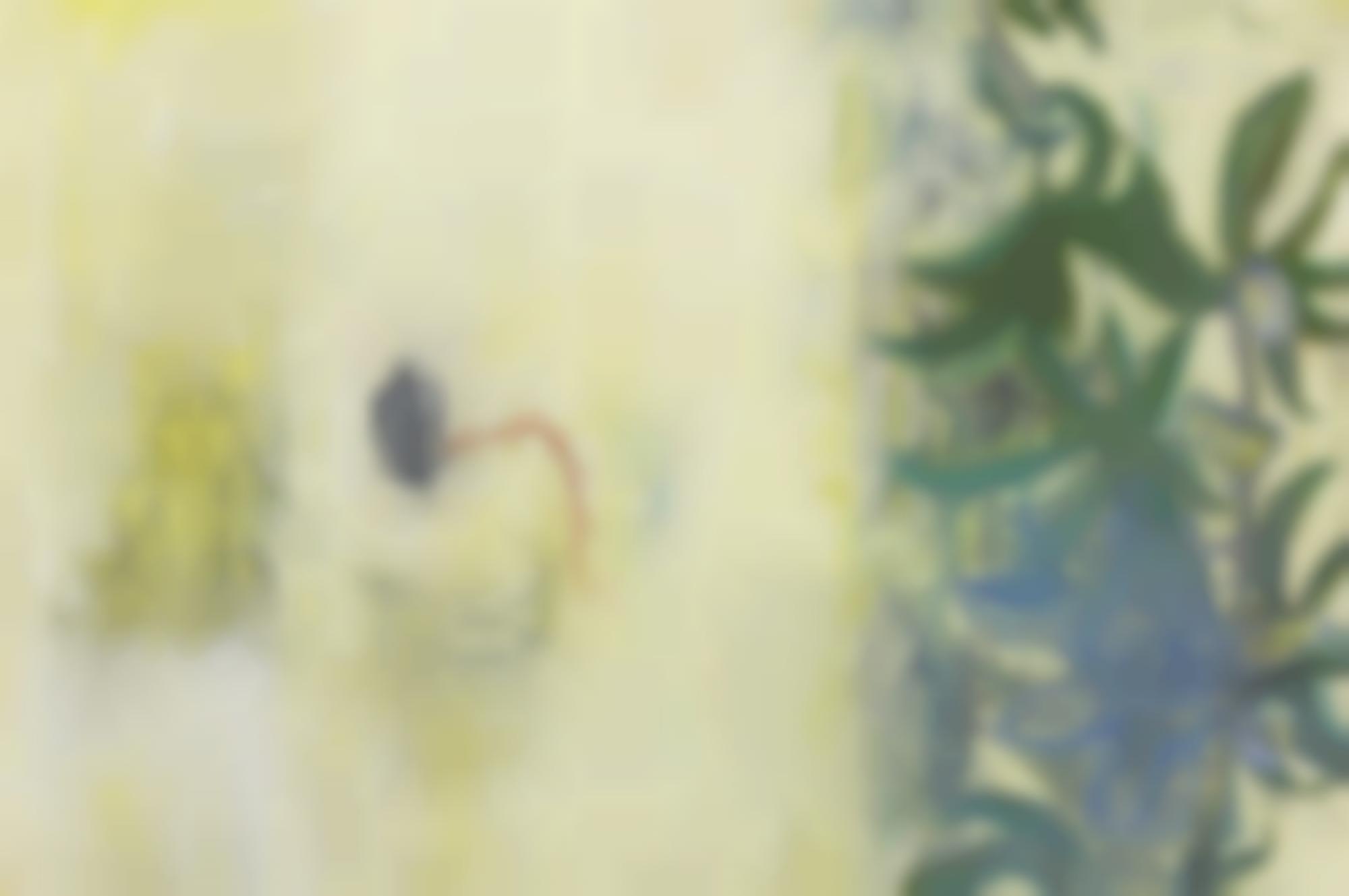 Amy Sillman-Passiflora Sp-1988