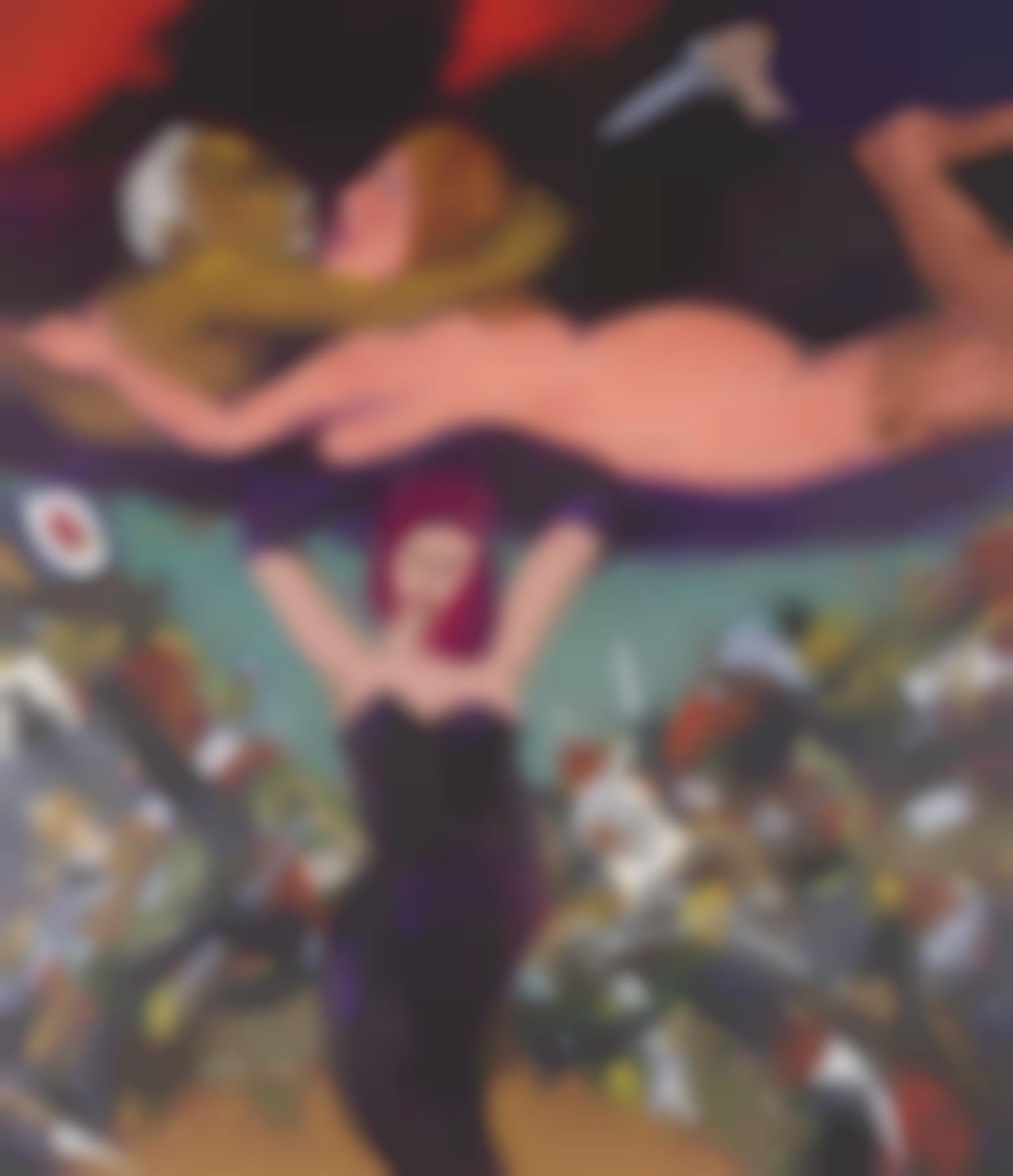 Robert Colescott-Jealousy-1984