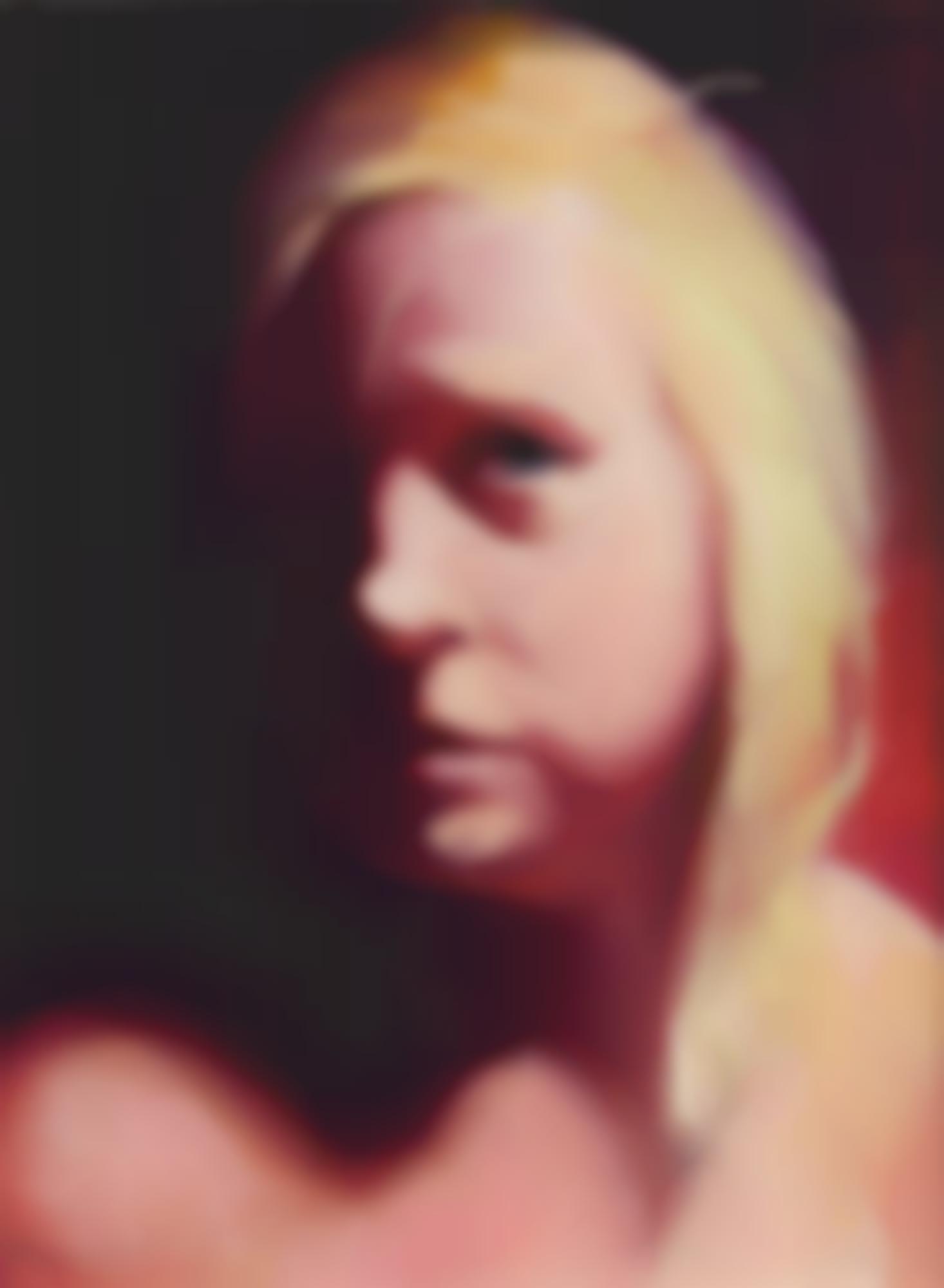 Lisa Yuskavage-Kk (Portrait Of Kathy Kennedy)-1998