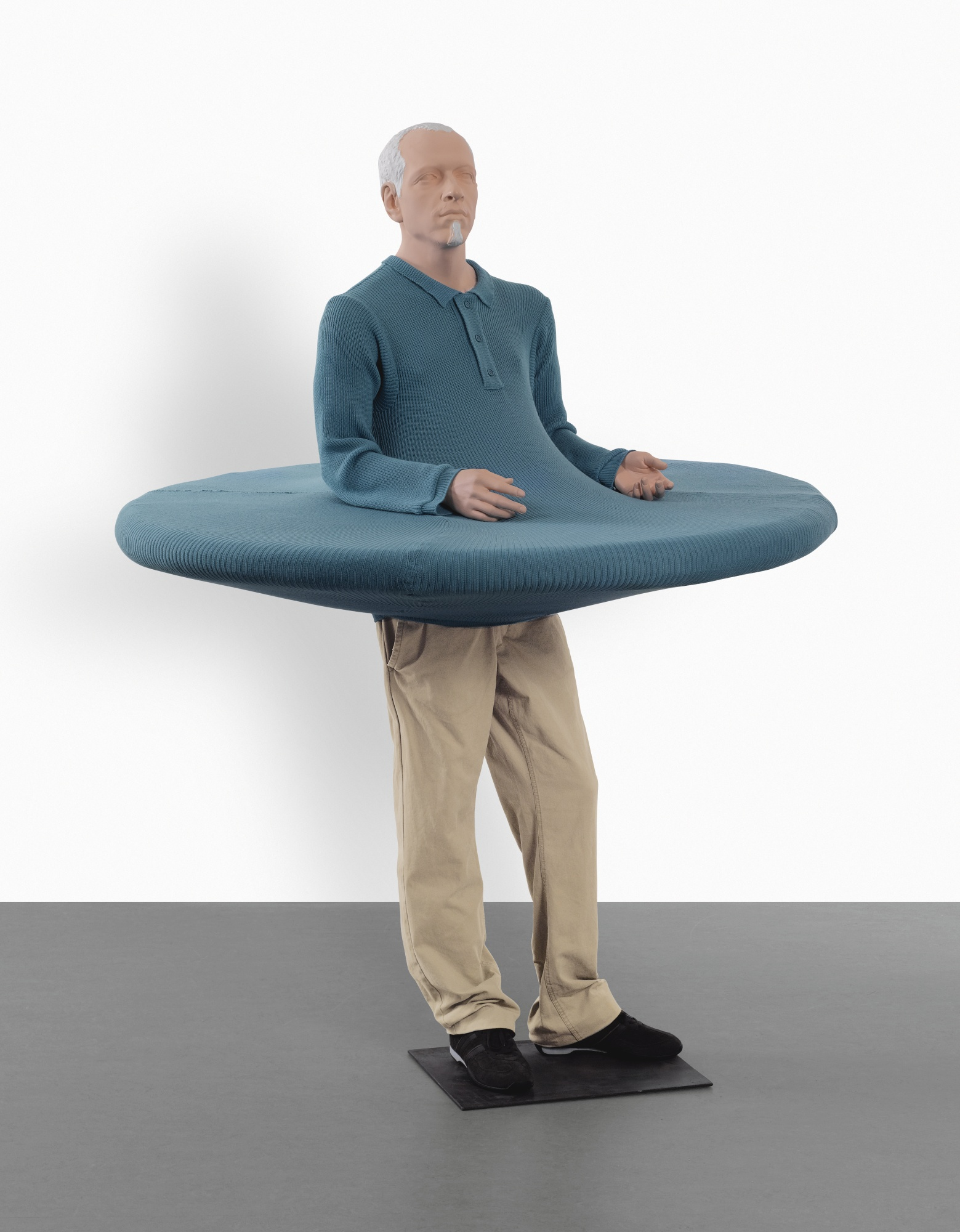 Erwin Wurm-The Artist Who Swallowed The World When It Was Still A Disc-2006