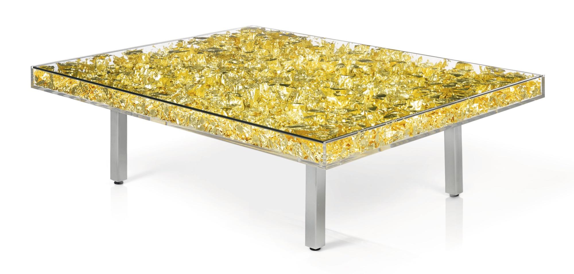 Yves Klein-Table D'Or-1961