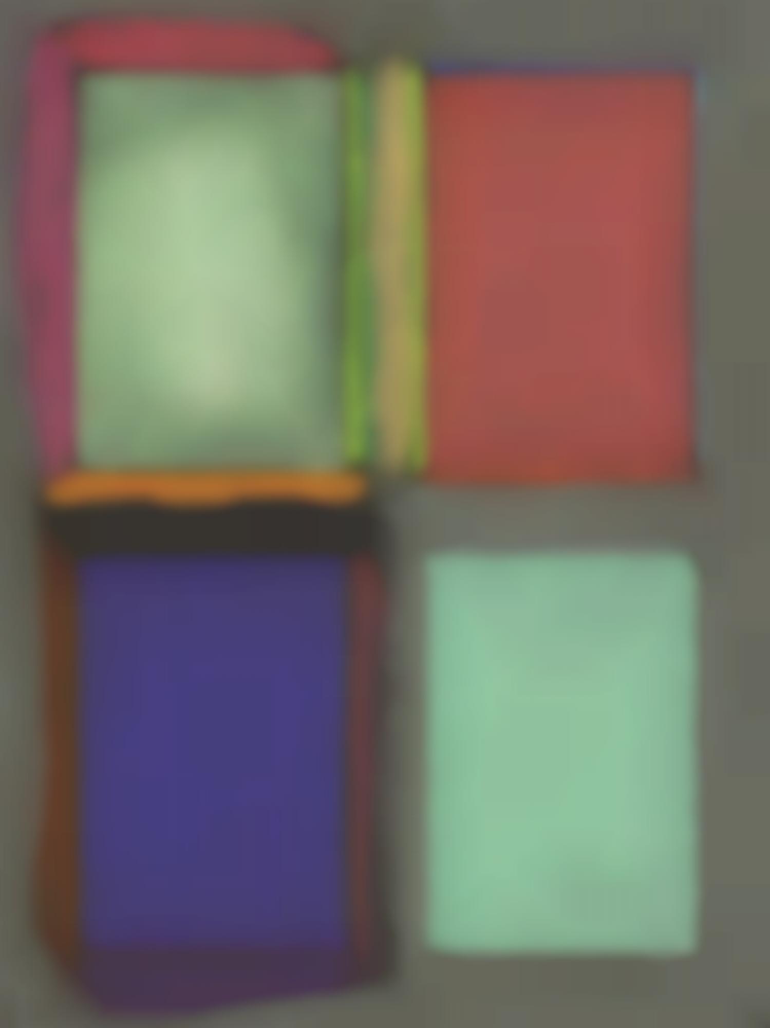 Lucas Samaras-Untitled (Window) #6-1965