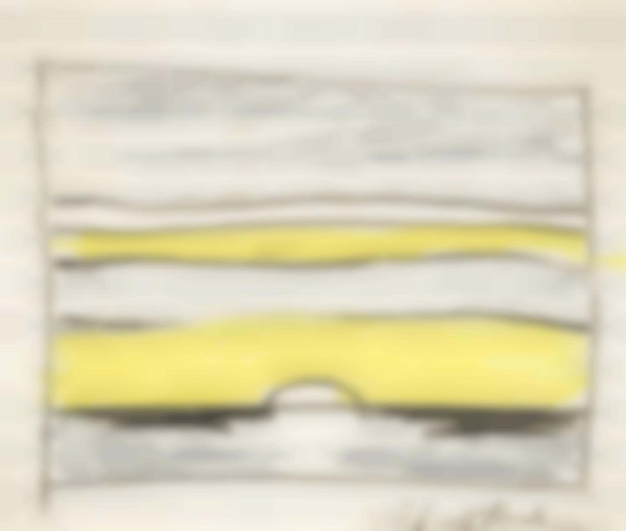 Roy Lichtenstein-Untitled (Landscape Yellow Sunset)-1964