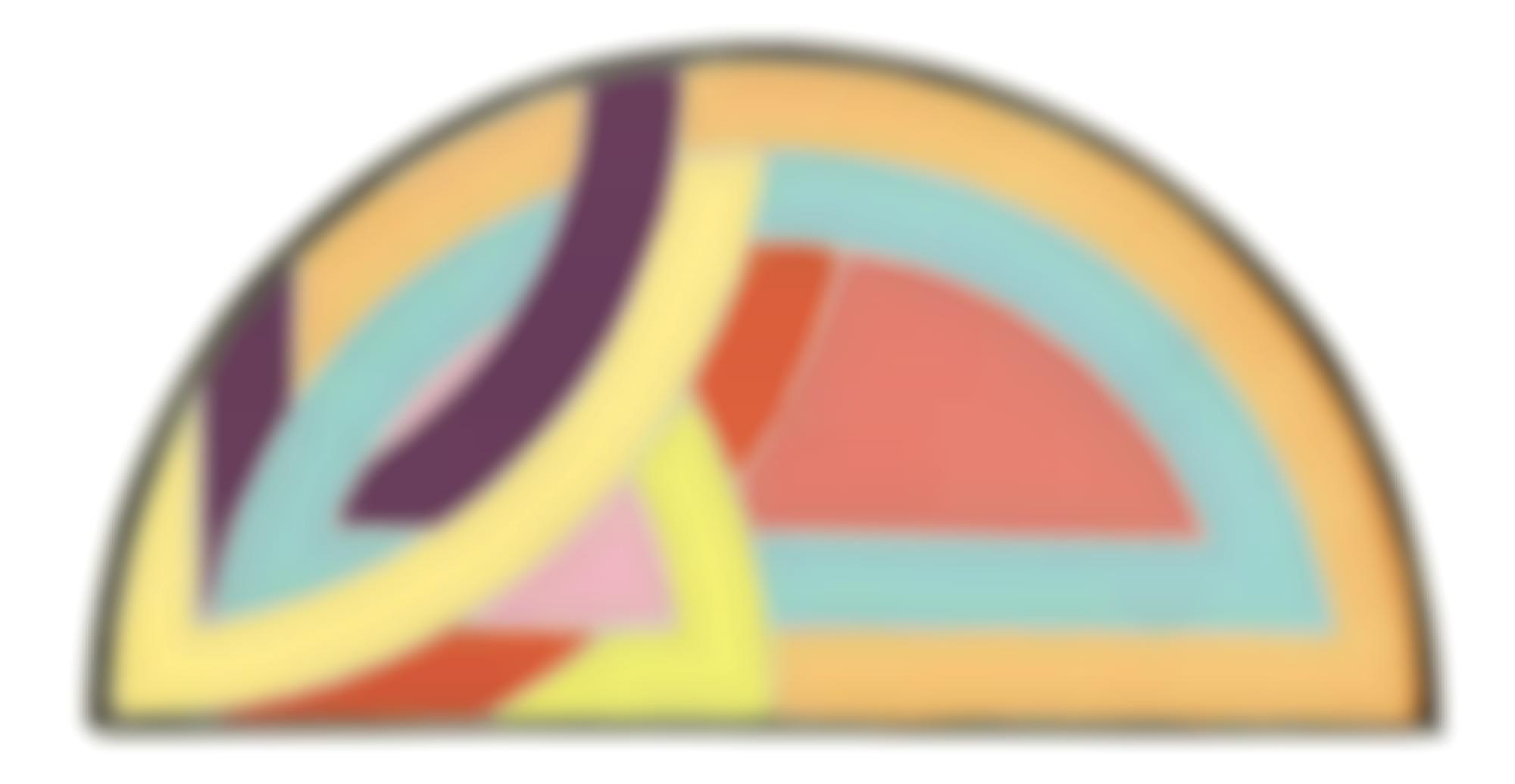 Richard Pettibone-Frank Stella, Protractor Variation IV, 1968-1969