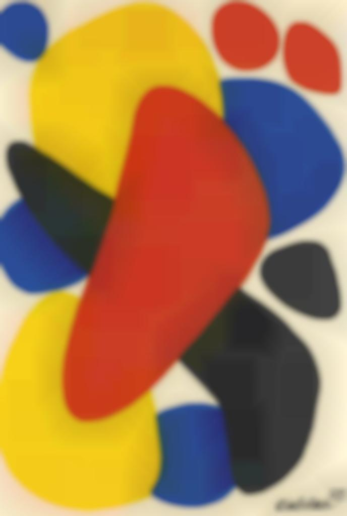 Alexander Calder-Red to the Front-1973