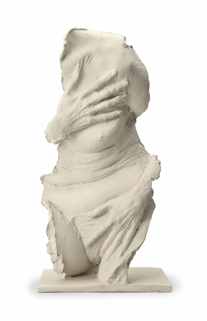 George Segal-Fragment: Venus Gesture-1986
