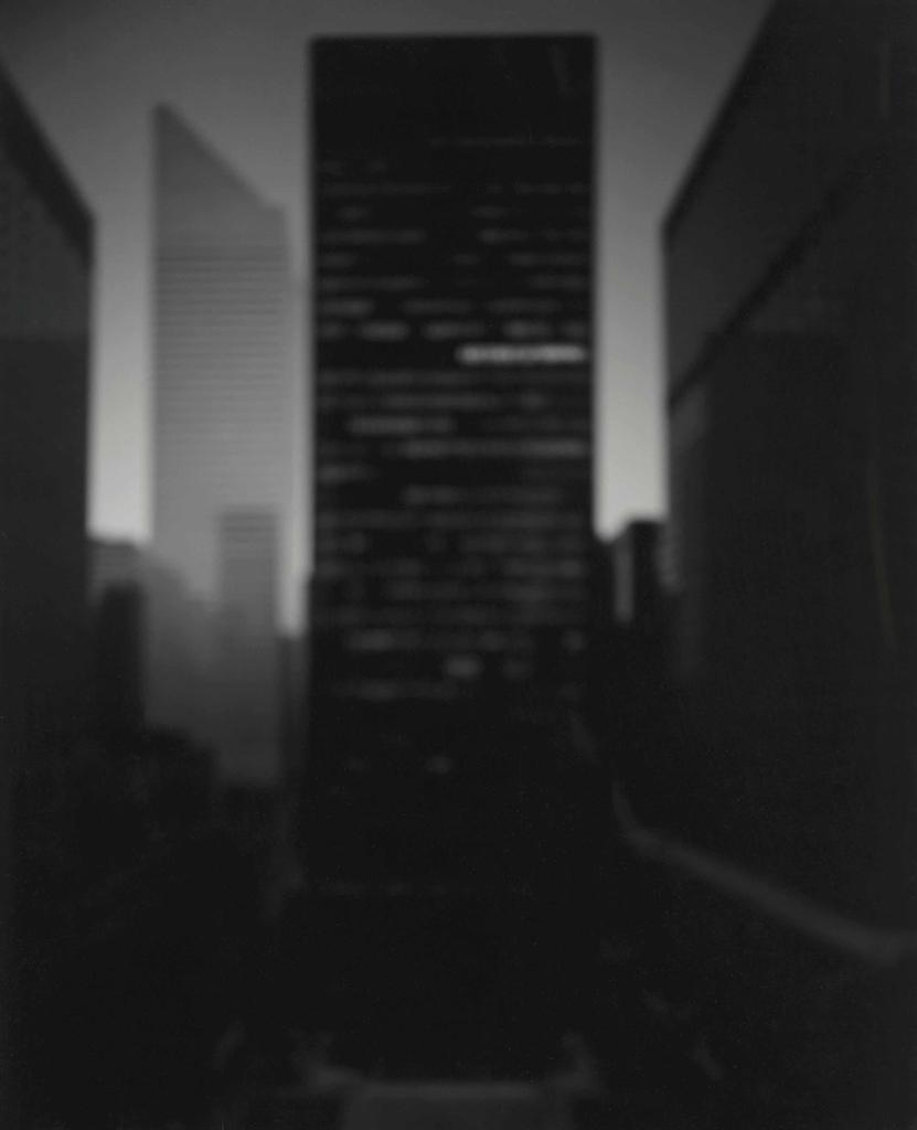 Hiroshi Sugimoto-Seagram Building–Ludwig Mies Van Der Rohe, 1997-1997