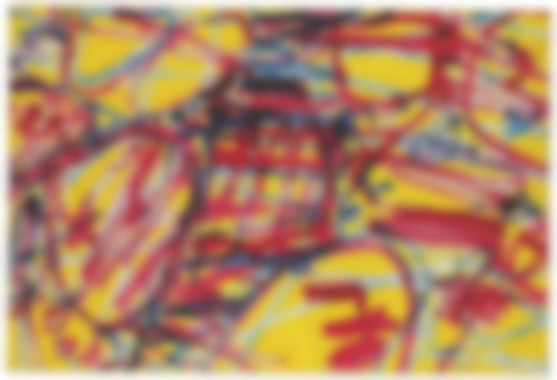 Jean Dubuffet-Mire G 103 (Kowloon)-1983