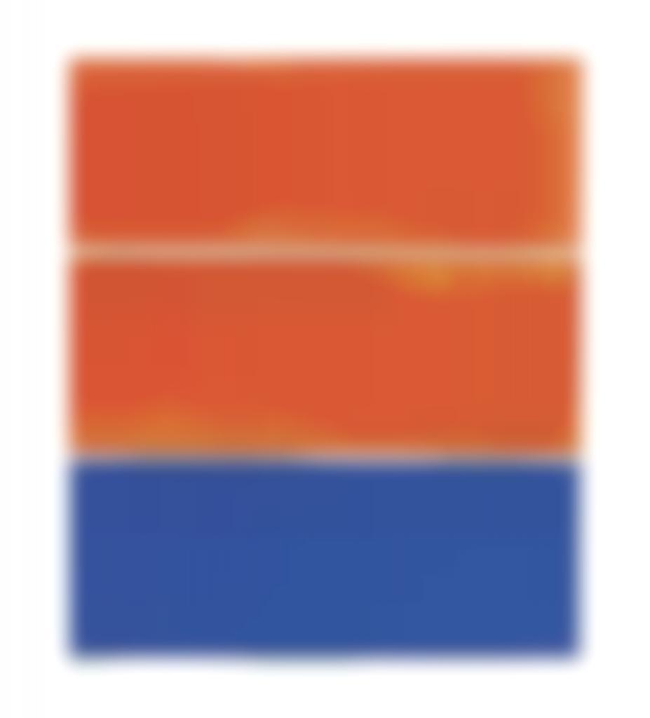 Kenneth Noland-Untitled-1987