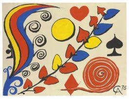 Alexander Calder-Spirale Imaginative-1975
