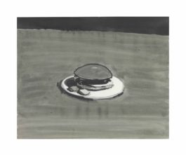 Wayne Thiebaud-Untitled (Hamburger)-1961