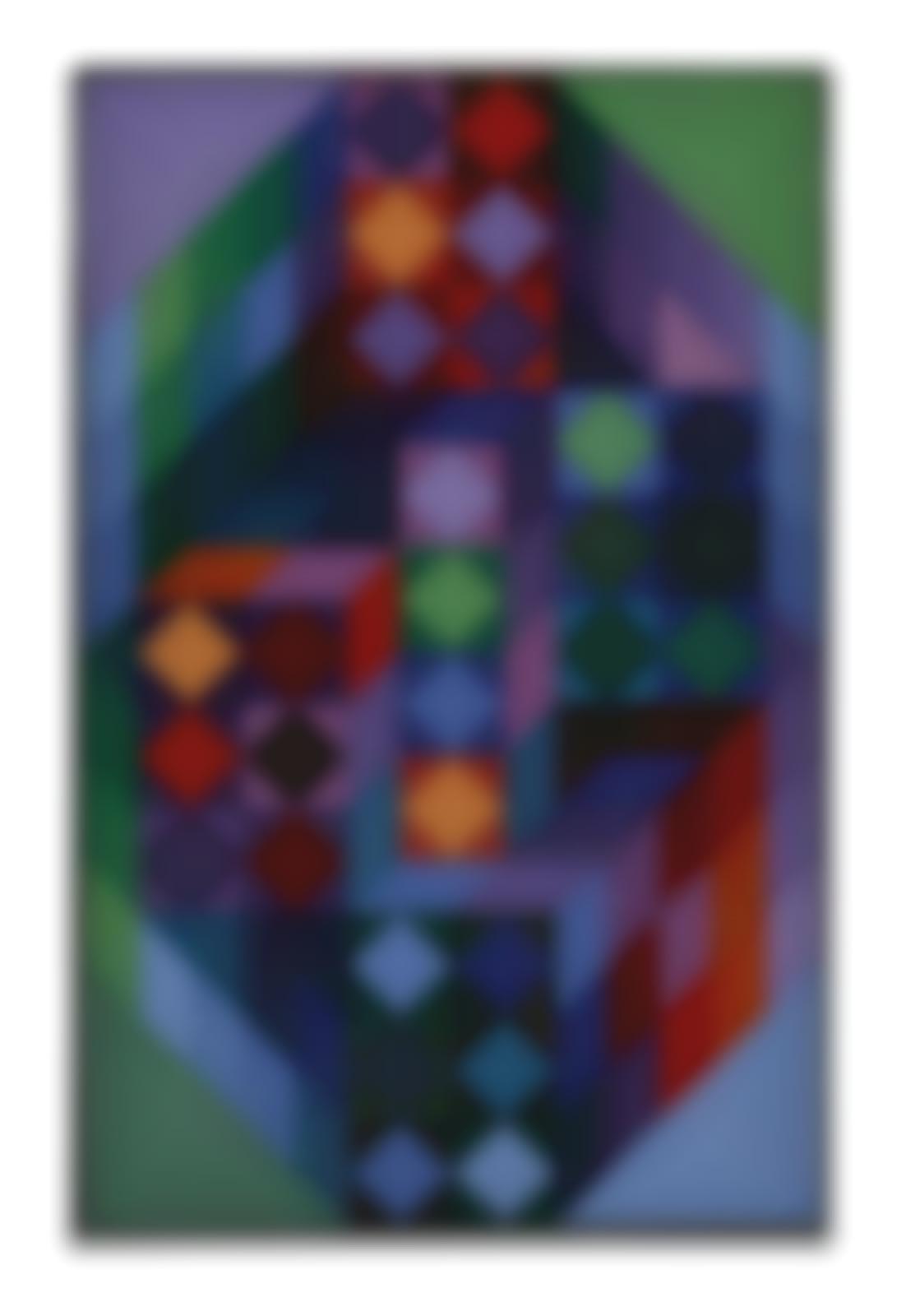 Victor Vasarely-Tridim-RR-1968