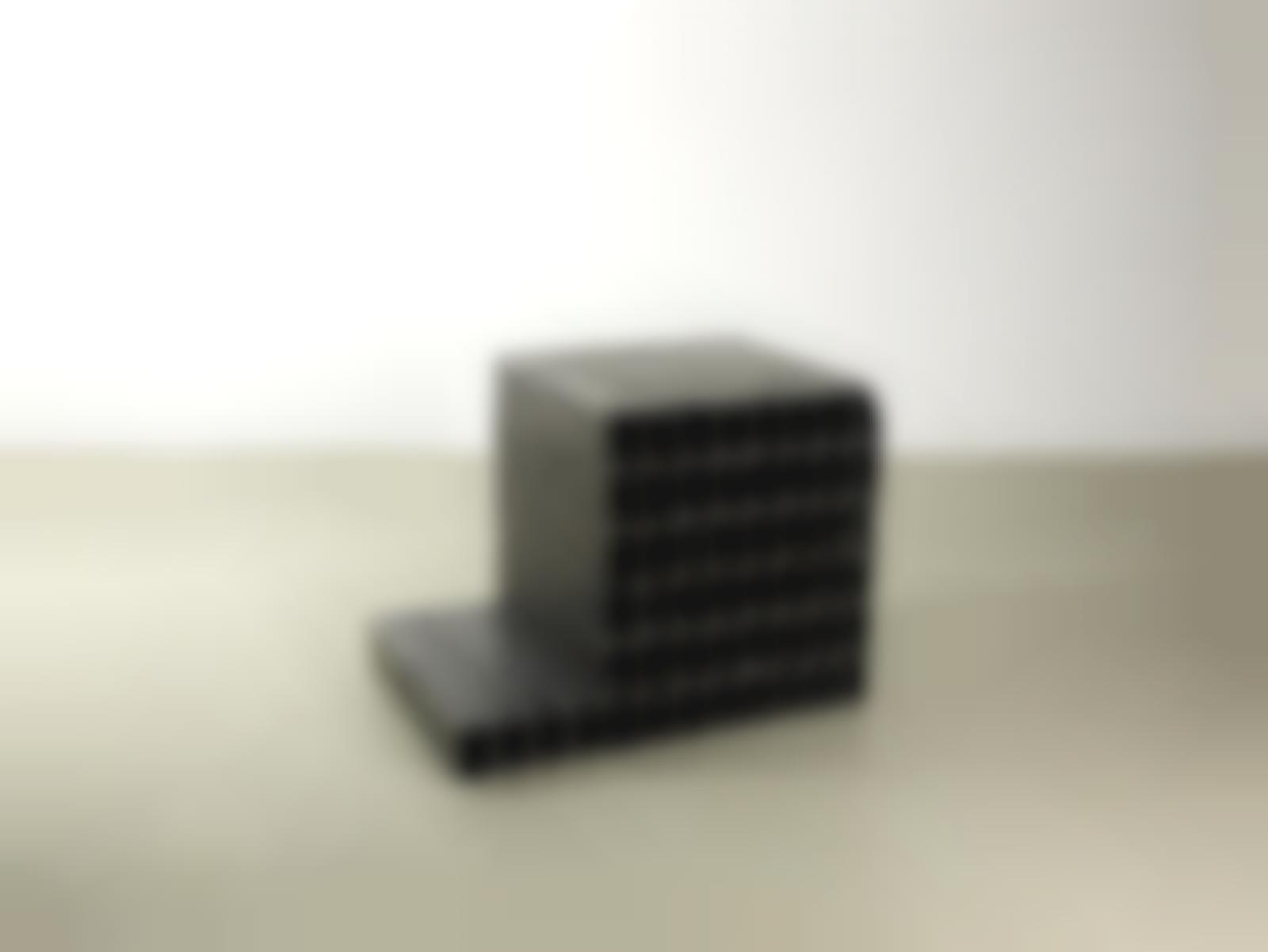 Mona Hatoum-Bunker (cube bldg)-2011
