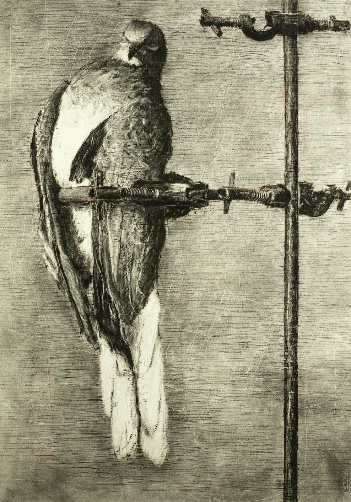 William Kentridge-Bird Catcher-2006
