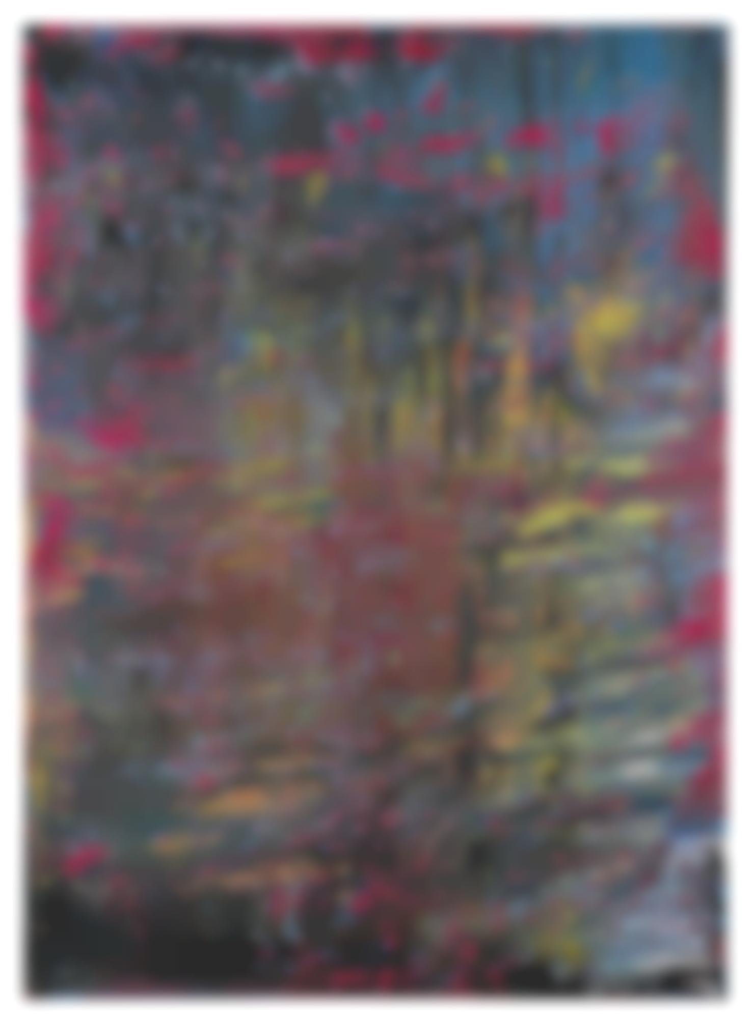 Gerhard Richter-Abstraktes Bild-1988