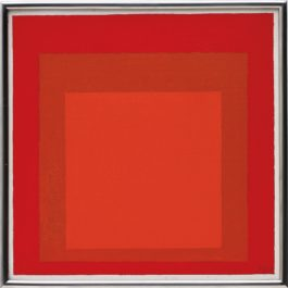 Josef Albers-Study for Homage to the Square: Wet and Dry-1969