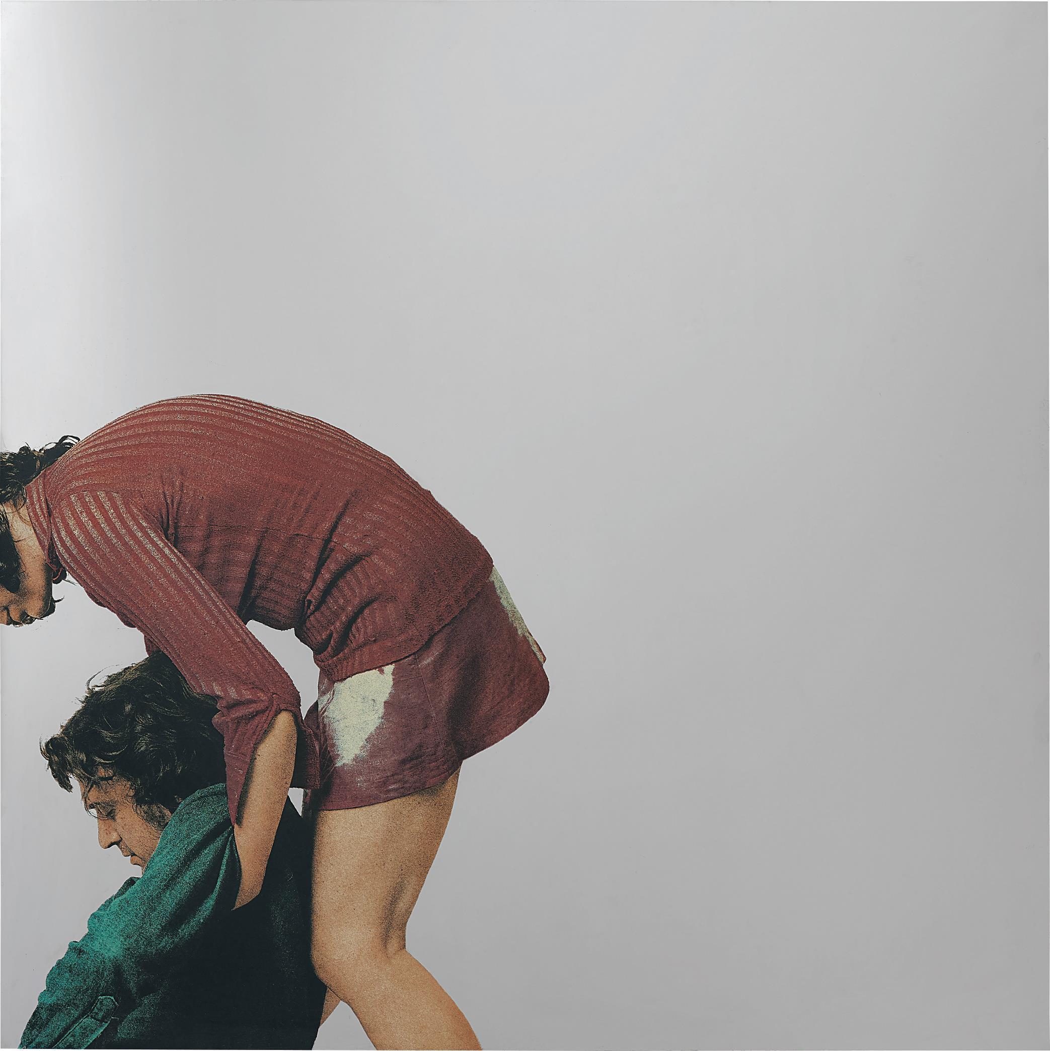 Michelangelo Pistoletto-Particolare della deposizione-1974