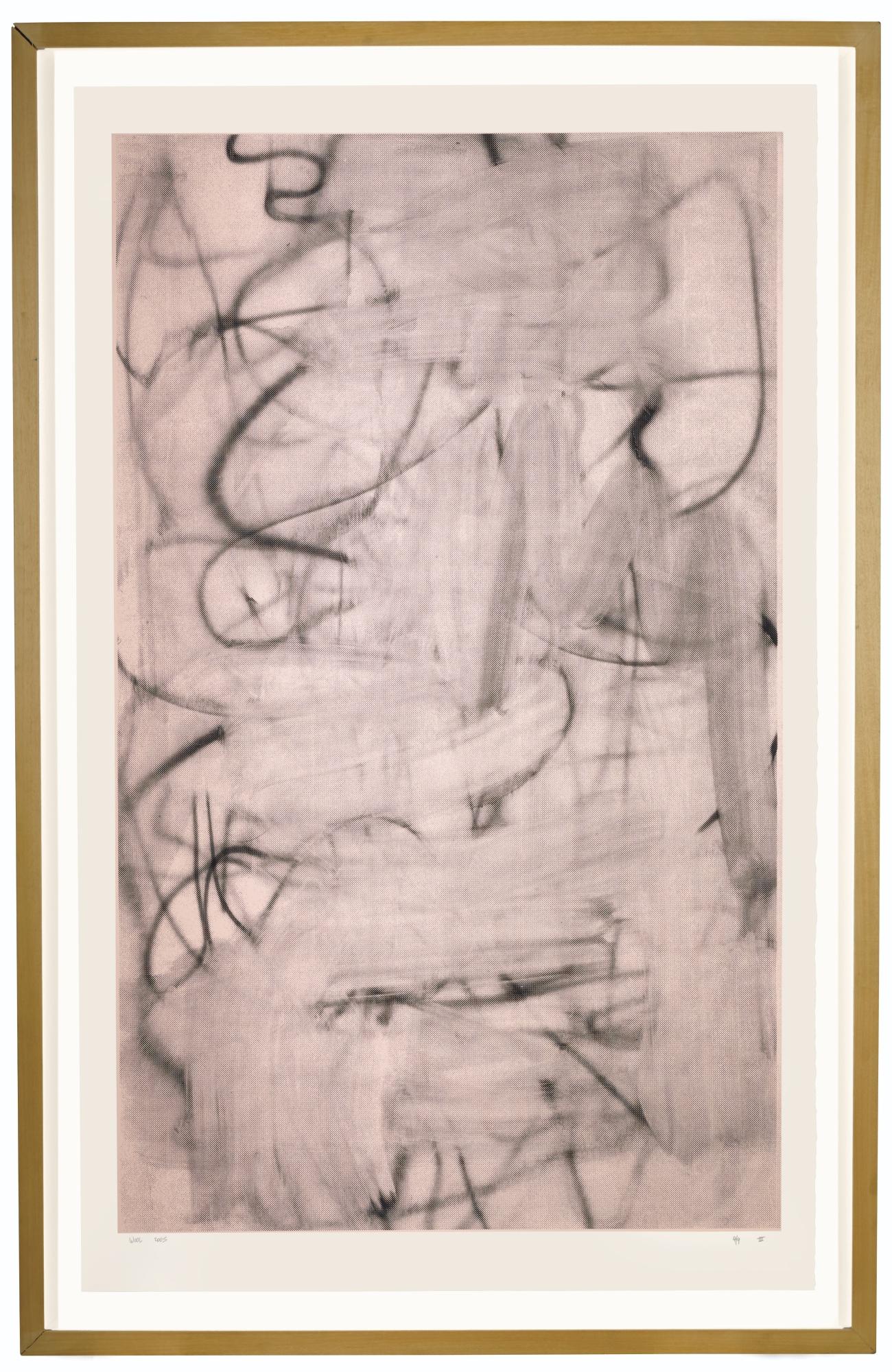 Christopher Wool-Three Women, Print 1-2005
