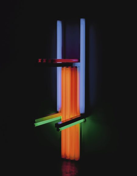 Dan Flavin-Untitled (To Lucie Rie, Master Potter) 1O-1990