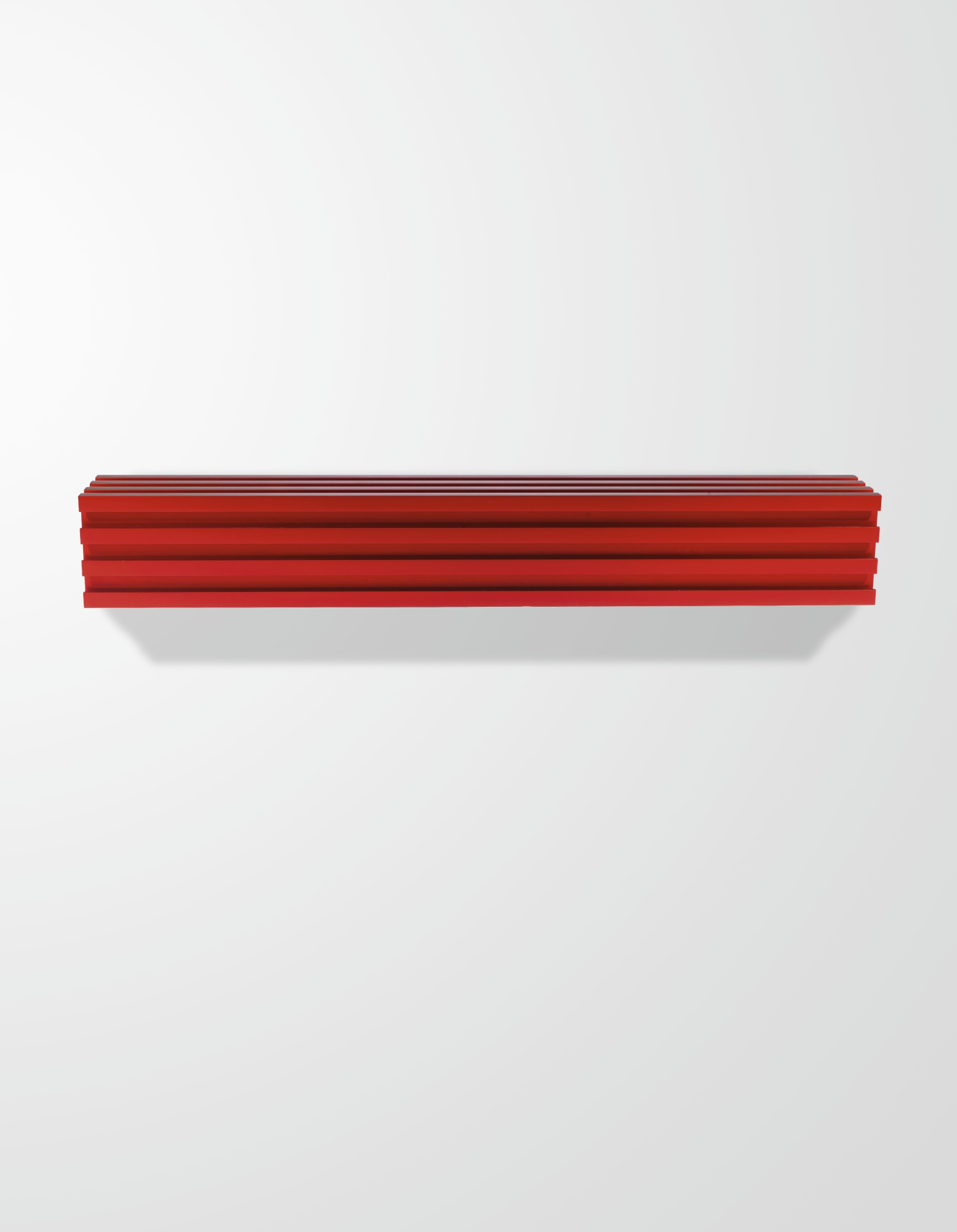 Donald Judd-Untitled (Tomato Red)-1991