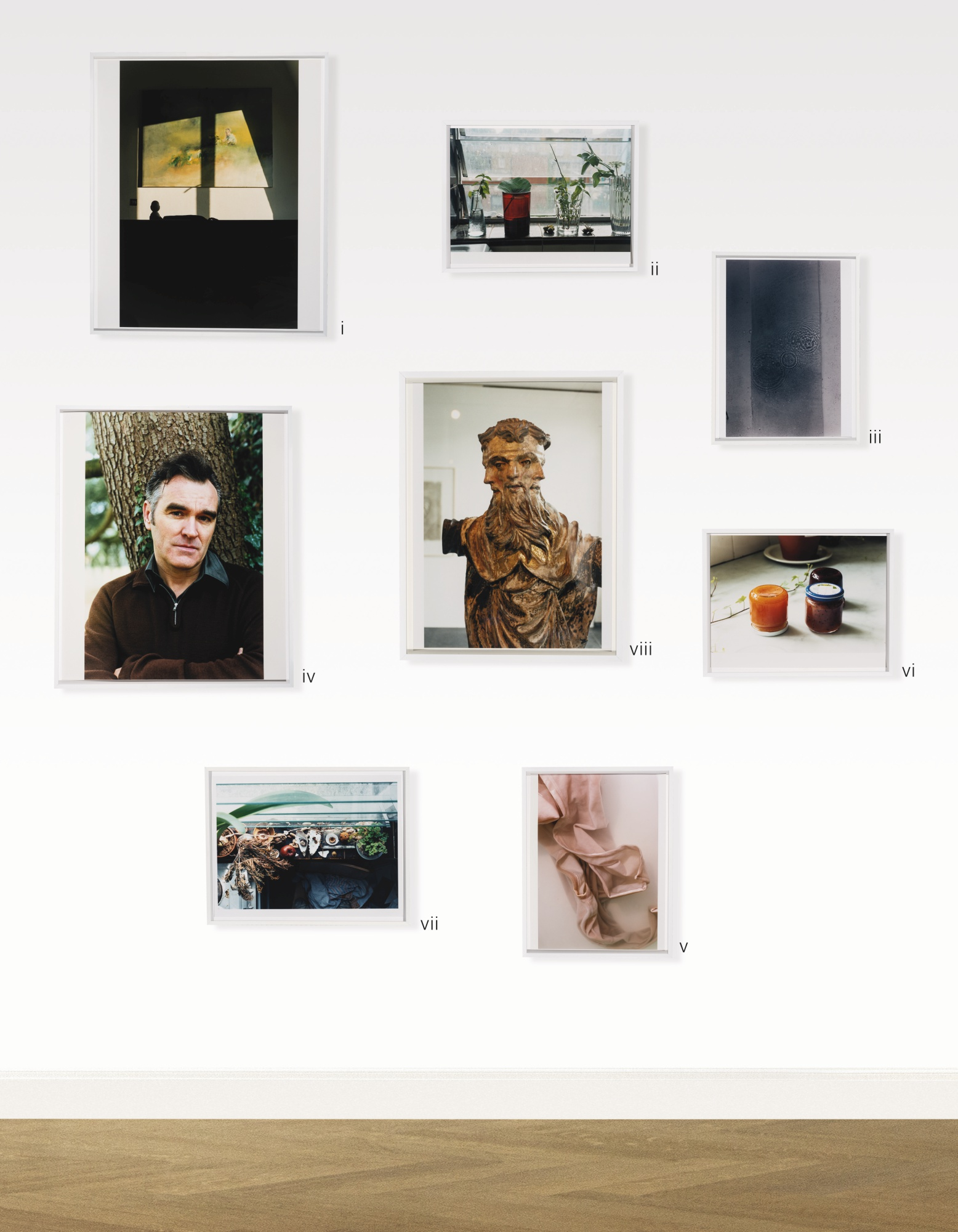 Wolfgang Tillmans-(i) Painting In Sunlight; (ii) Still Life Grays Inn Road 1; (iii) Bubble Rings; (iv) Morrissey (v) Faltenwurg (Submerged) (vi) Untitled (Jam) (vii) Layers (viii) Trinitatis-2003