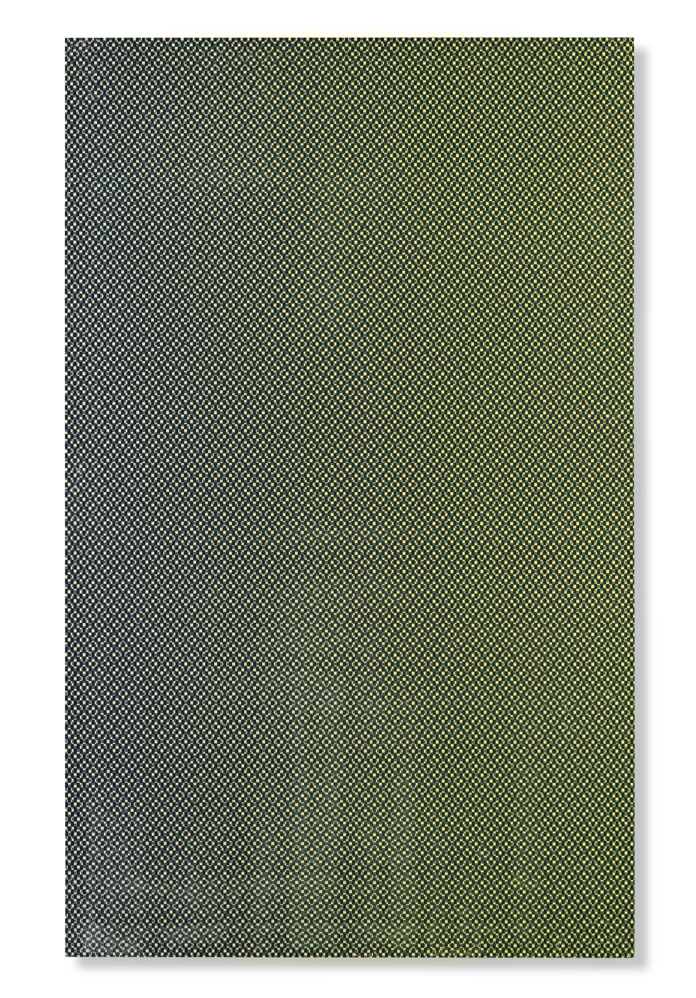 R.H. Quaytman-Chapter 12: Iamb (Green Screen)-2008