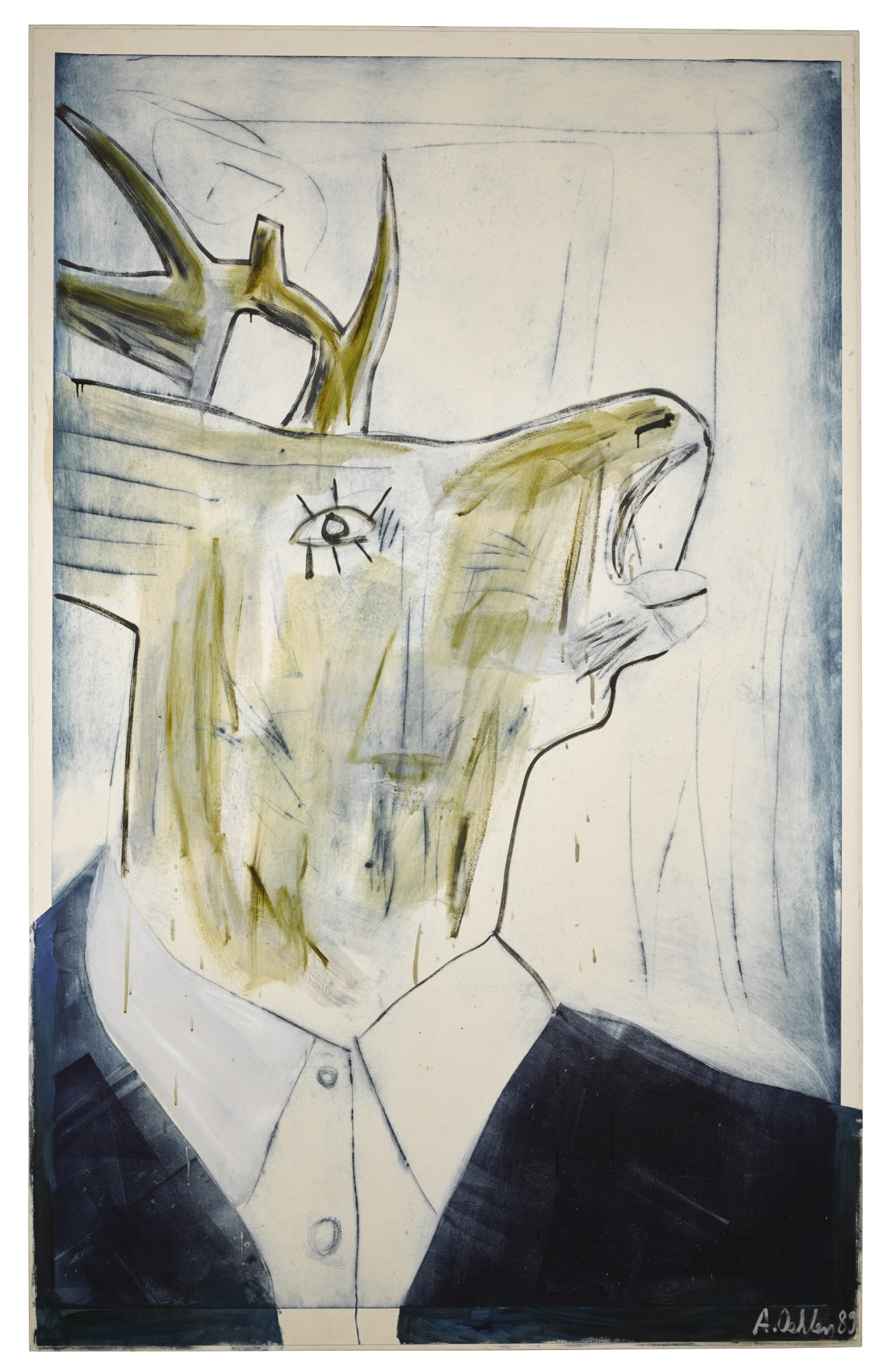Albert Oehlen-Untitled-1989