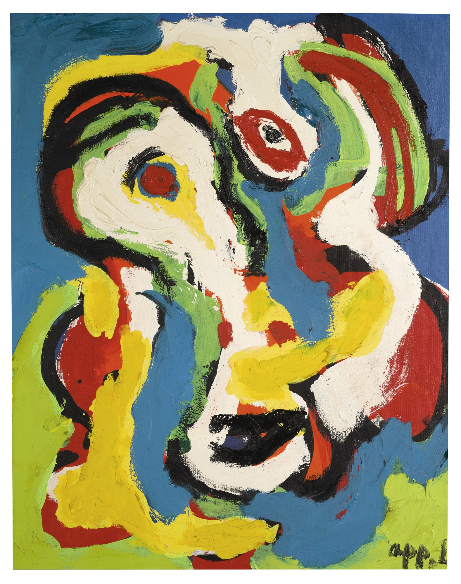 Karel Appel-De Man-1969