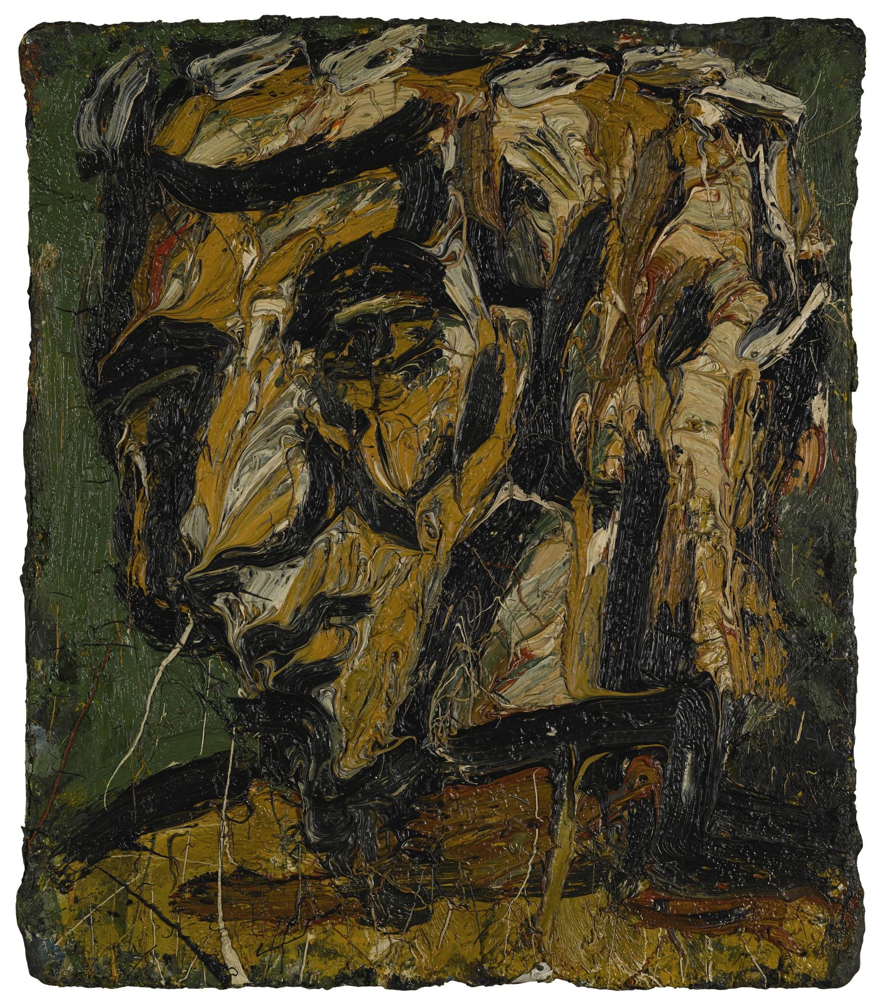 Leon Kossoff-Head Of George Thompson No. I-1972