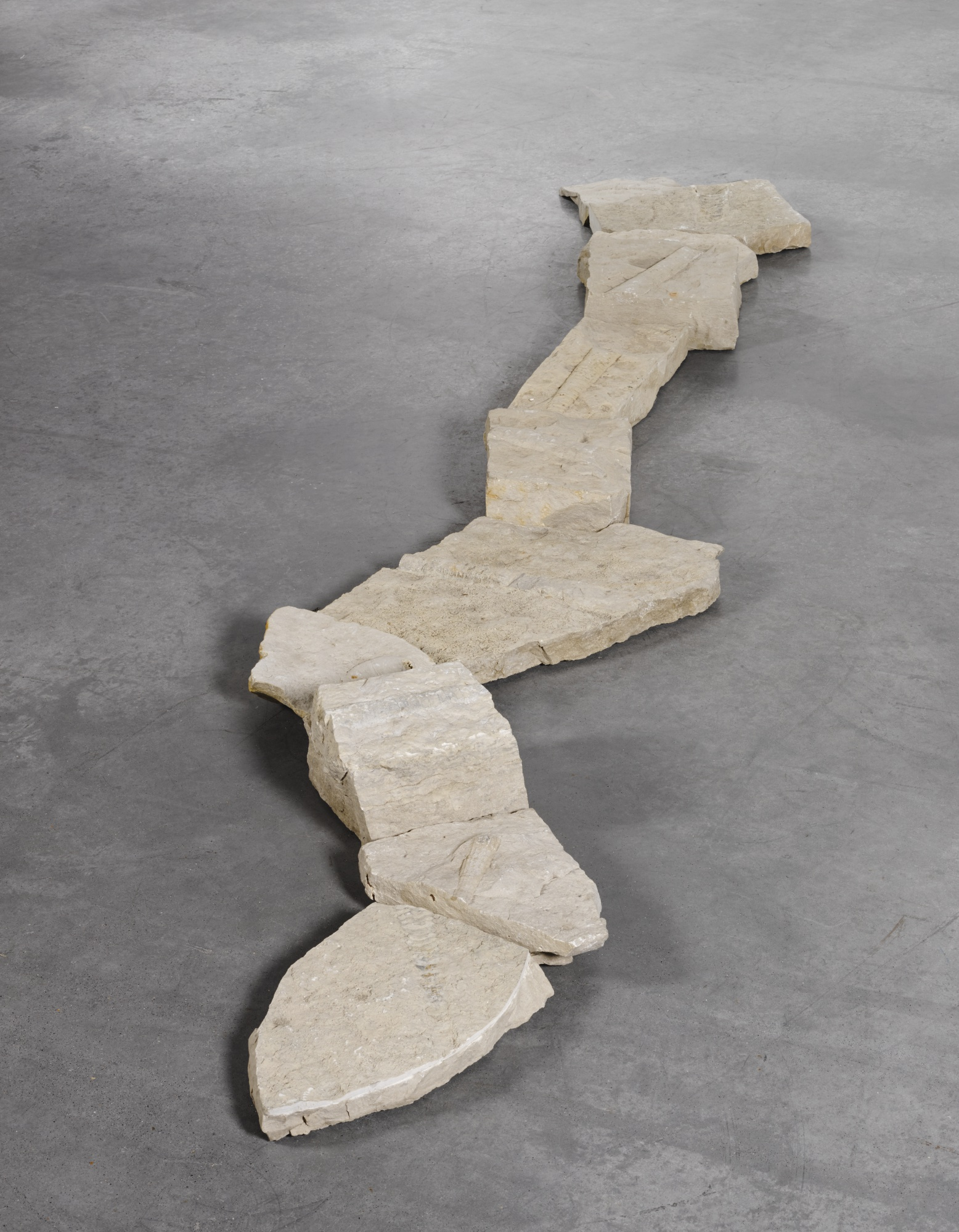 Richard Long-Fossil Line-2002