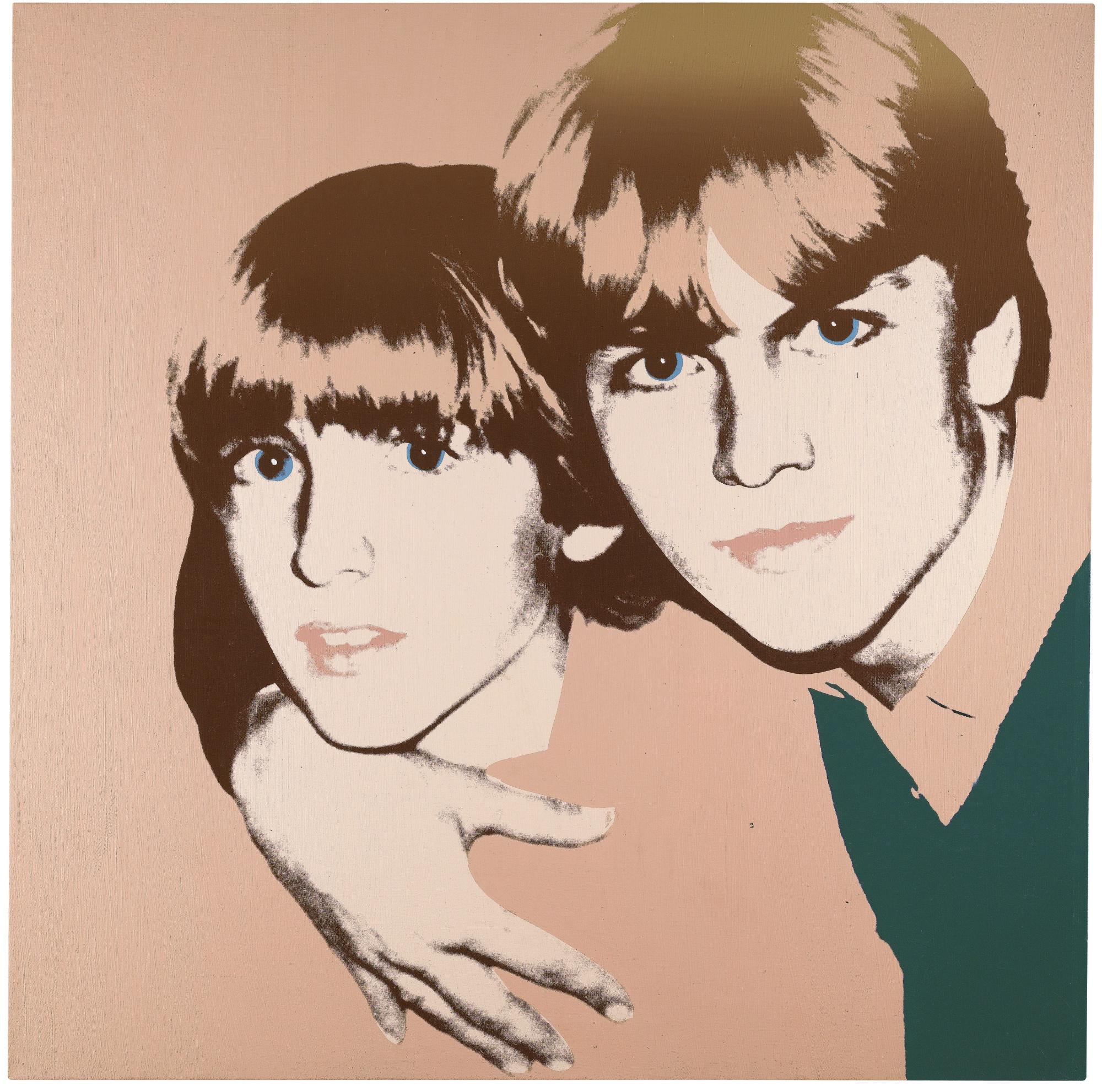 Andy Warhol-Double Portrait-1981
