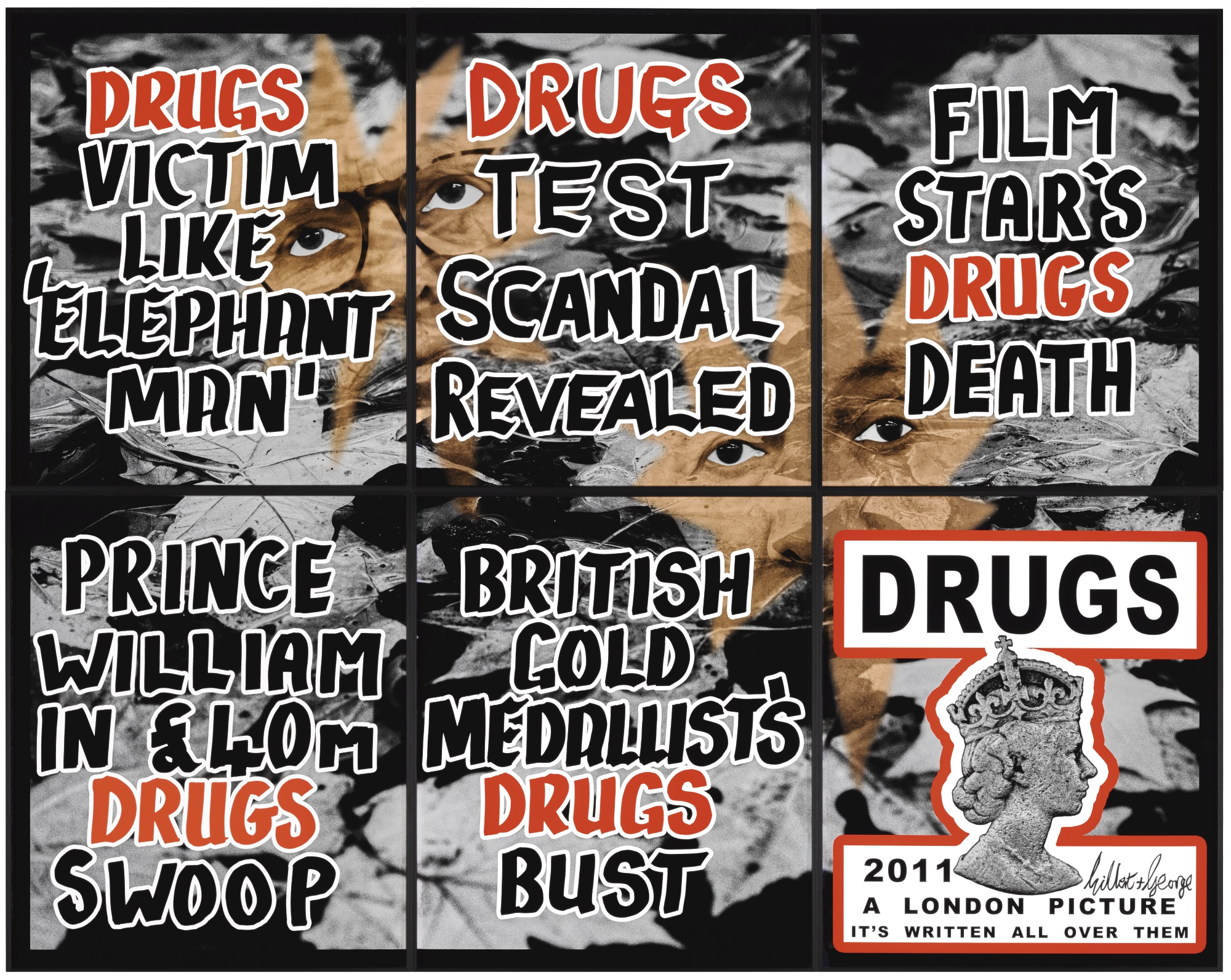 Gilbert and George-Drugs-2011