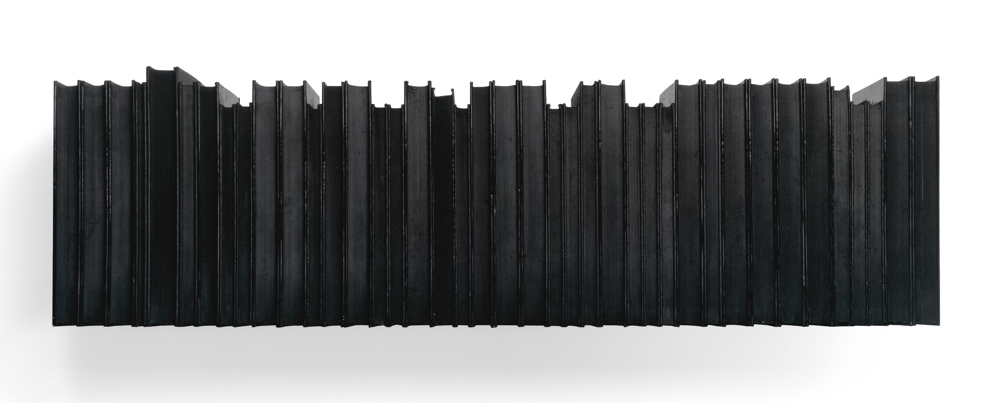Rachel Whiteread-Untitled (Black Books)-1997