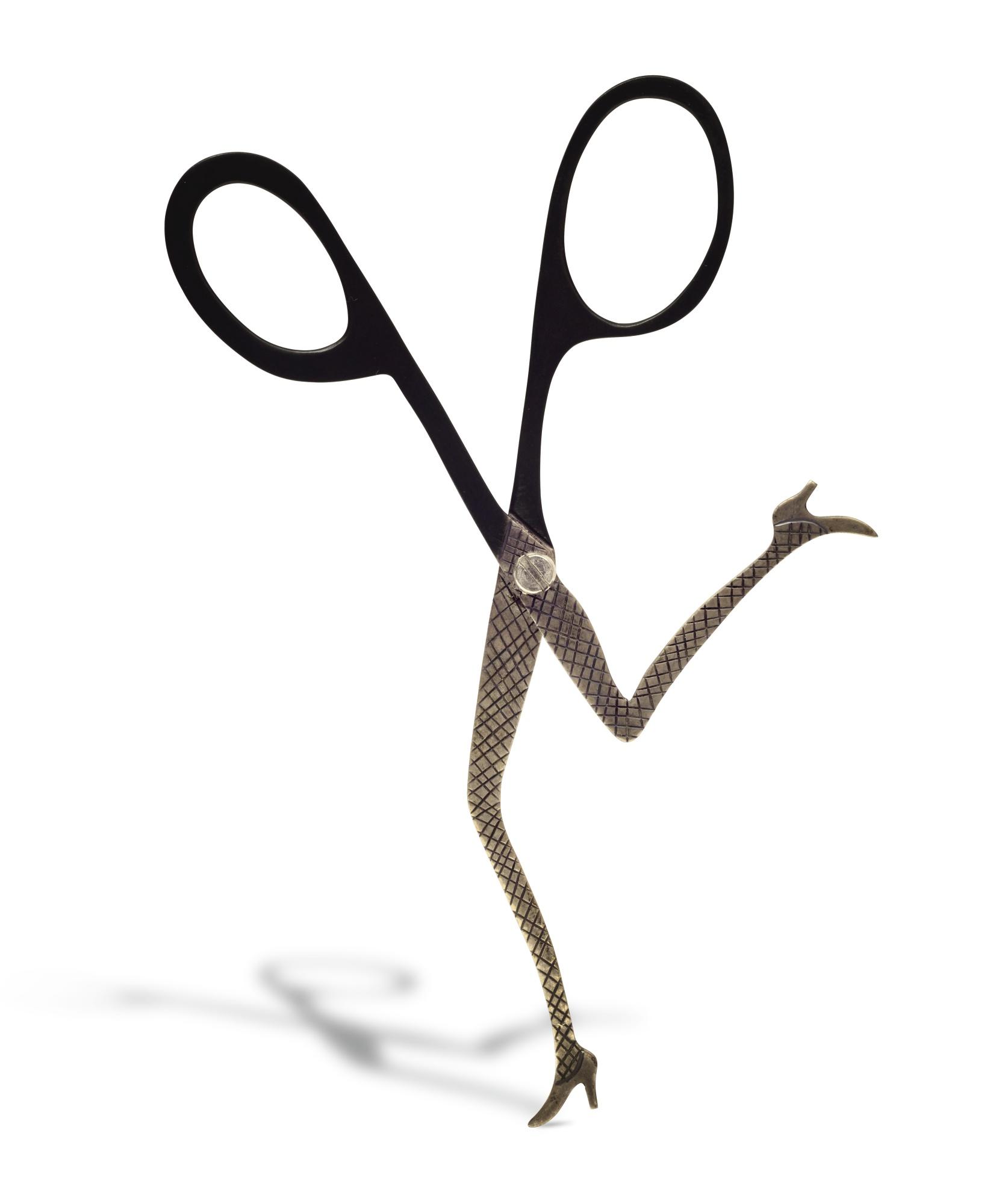 Sigmar Polke-Rennende Schere (Running Scissors)-1996