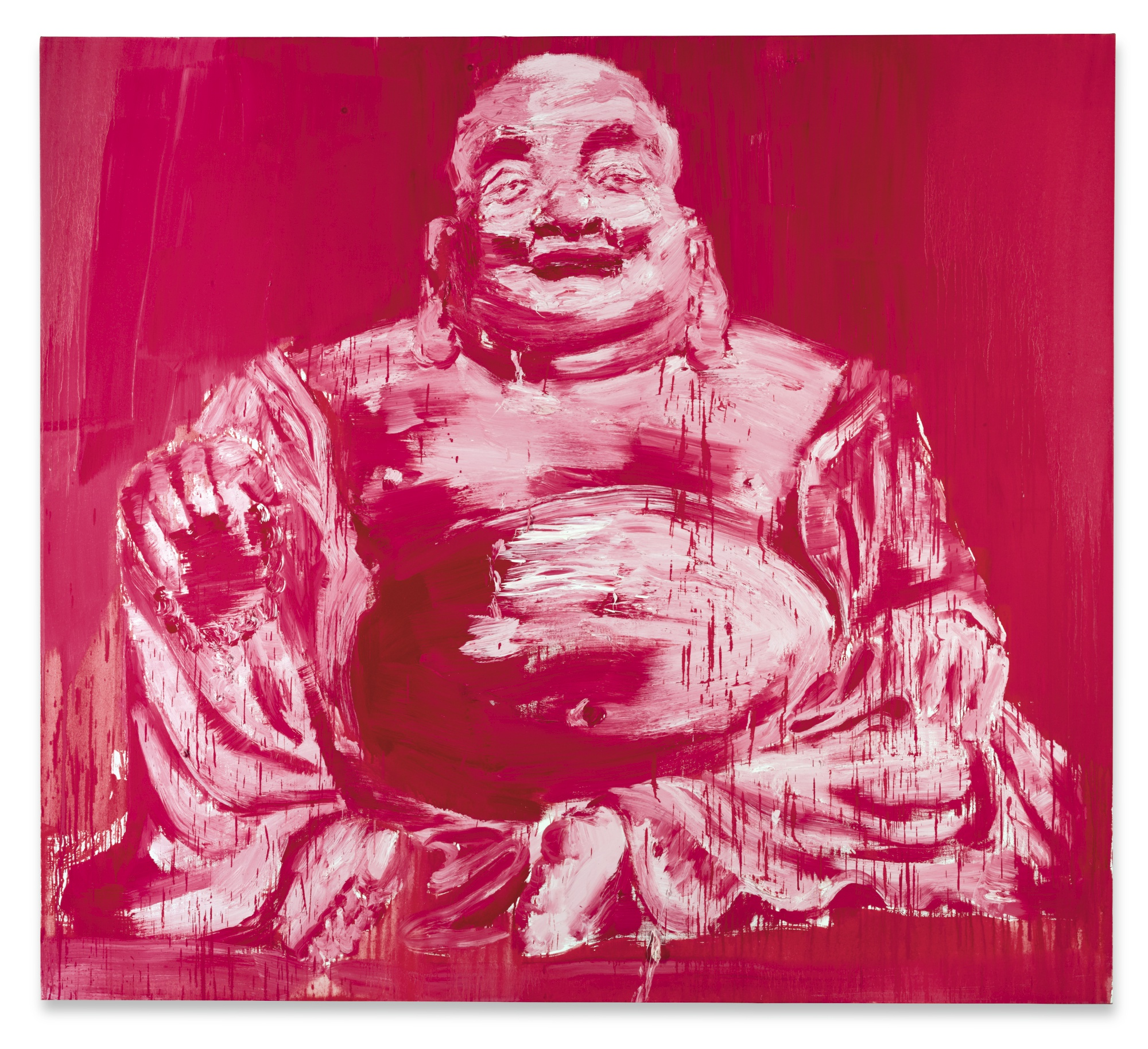 Yan Pei-Ming-Mitreya Buddha-2003