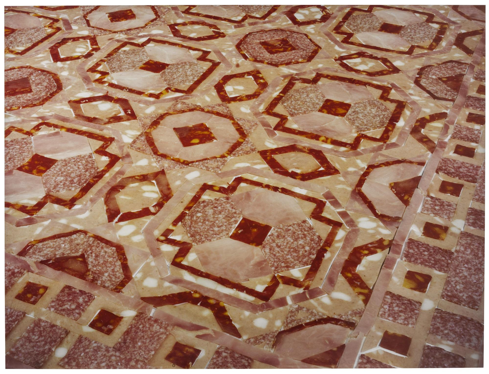 Wim Delvoye-Marble Floor #43-1999