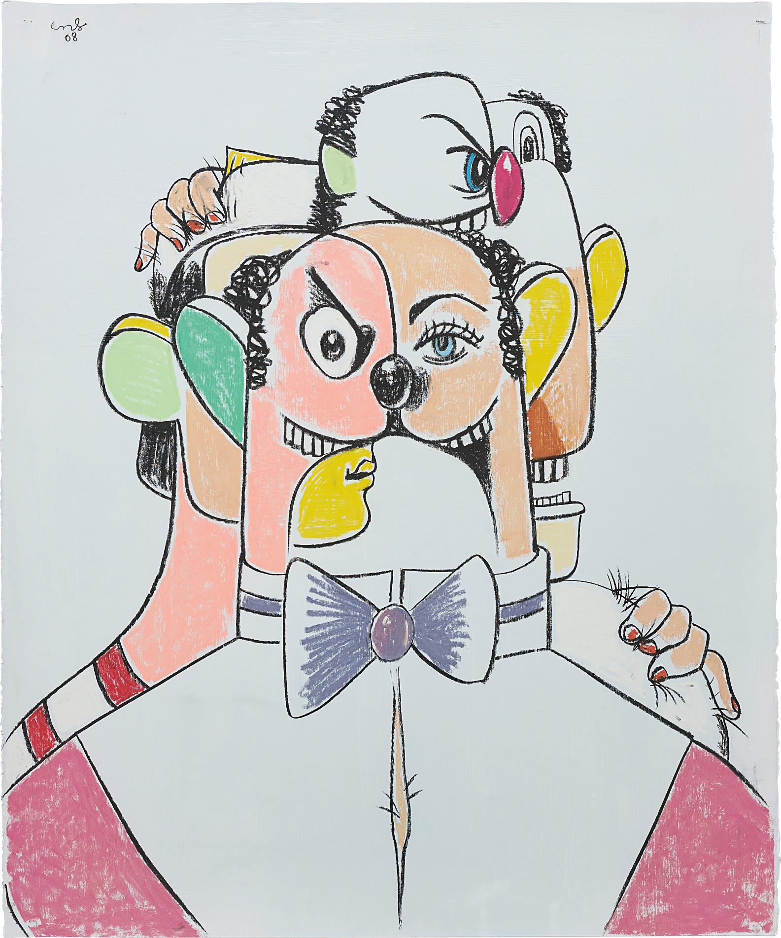 George Condo-The Colorful Tailor-2008