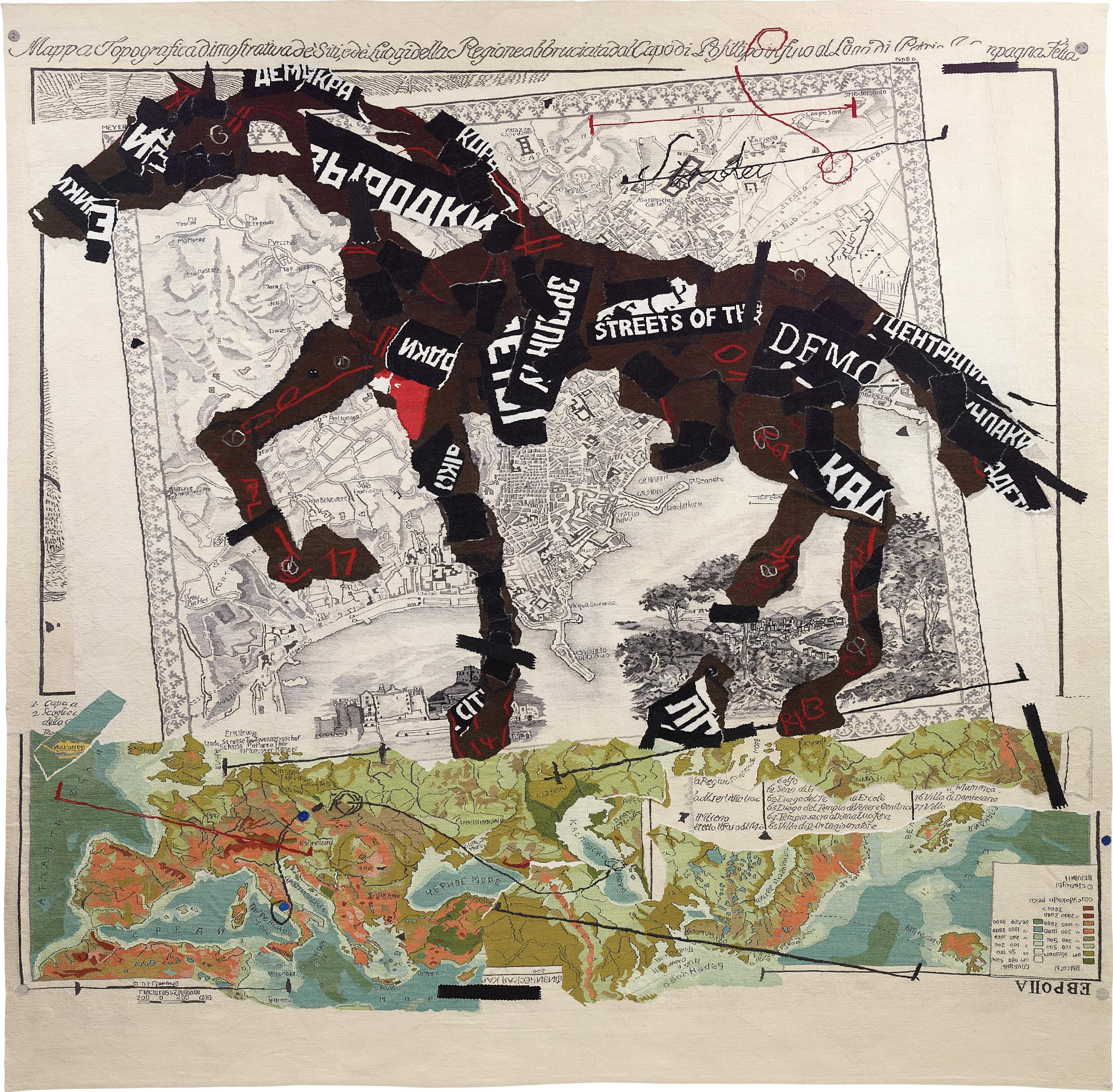 William Kentridge-William Kentridge And Marguerite Stephens (Weaver) - Streets of the City-2009