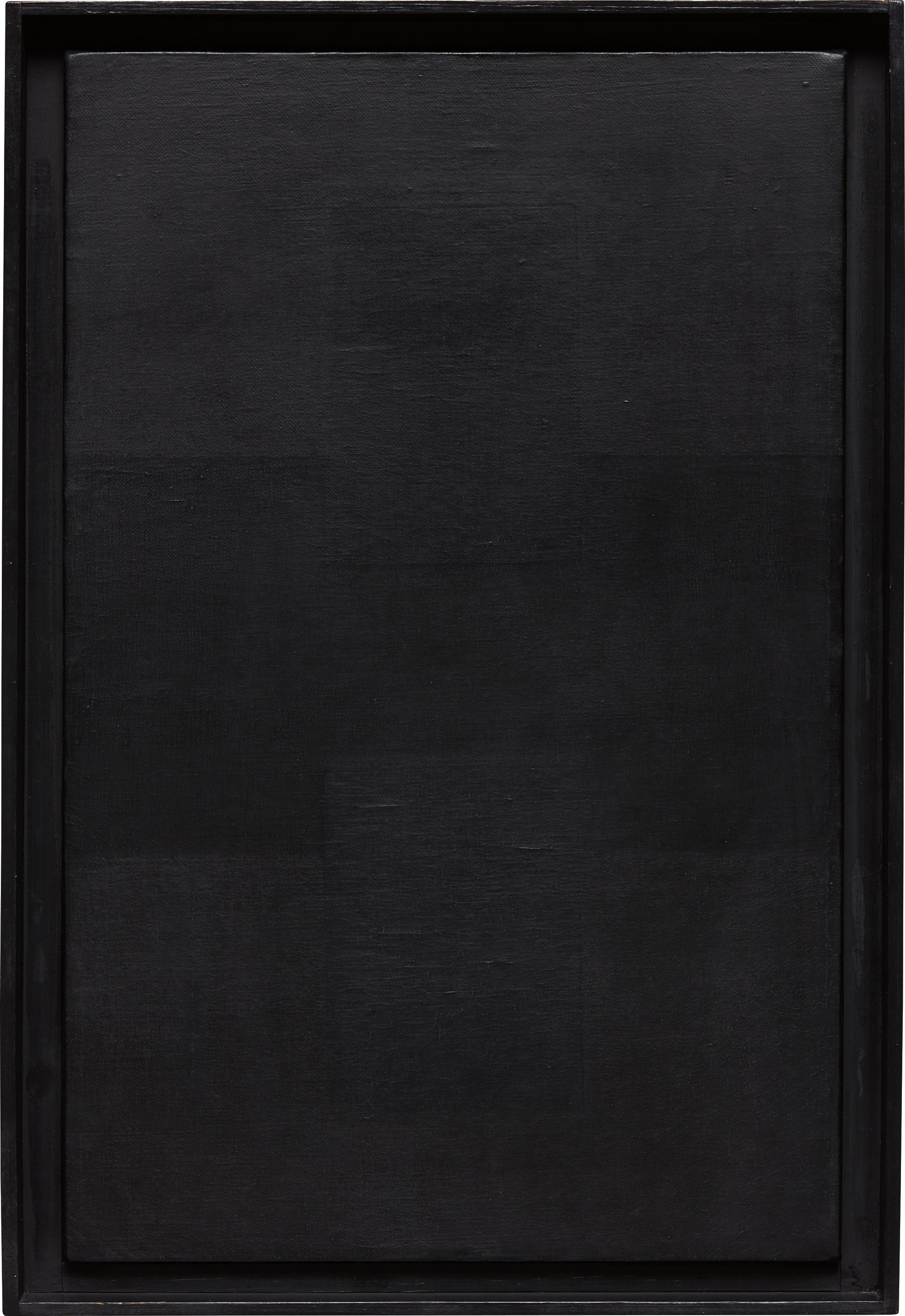 Ad Reinhardt-Abstract Painting-1955