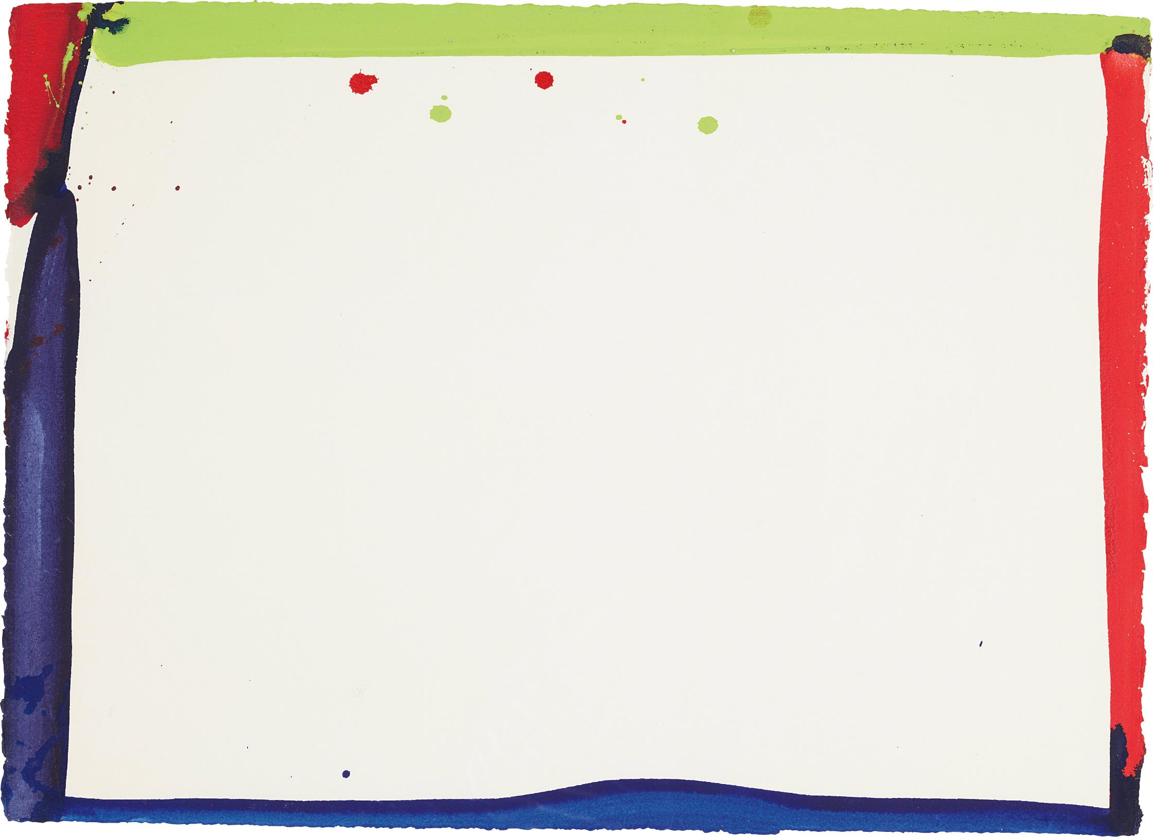 Sam Francis-Untitled (SF 65-085)-1965