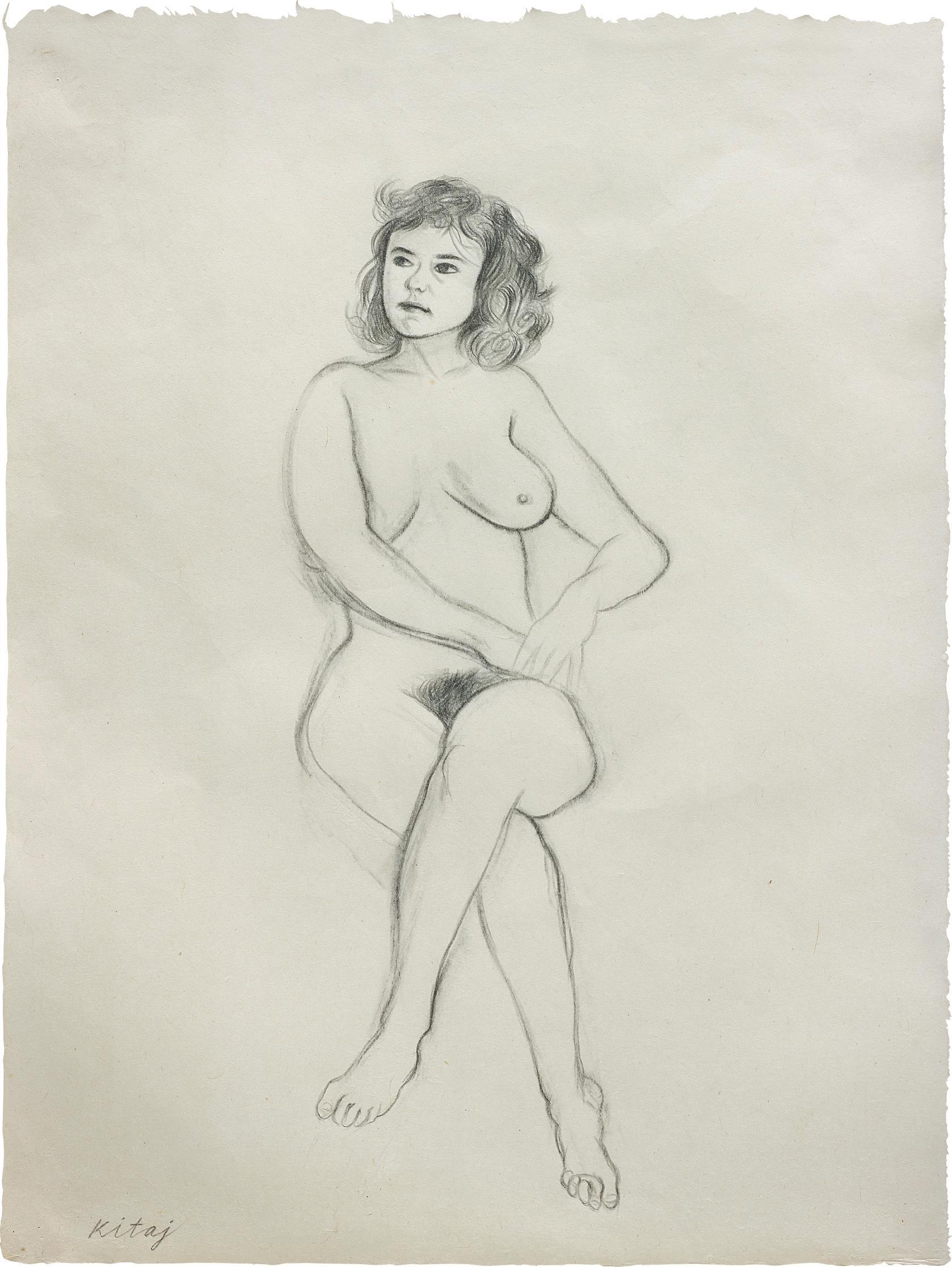RB Kitaj-Lauren-1983